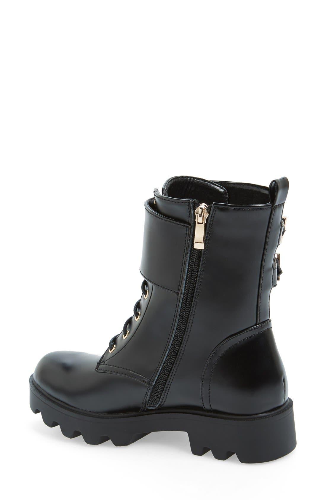 Alternate Image 2  - N.Y.L.A 'Starkk' Combat Boot (Women)