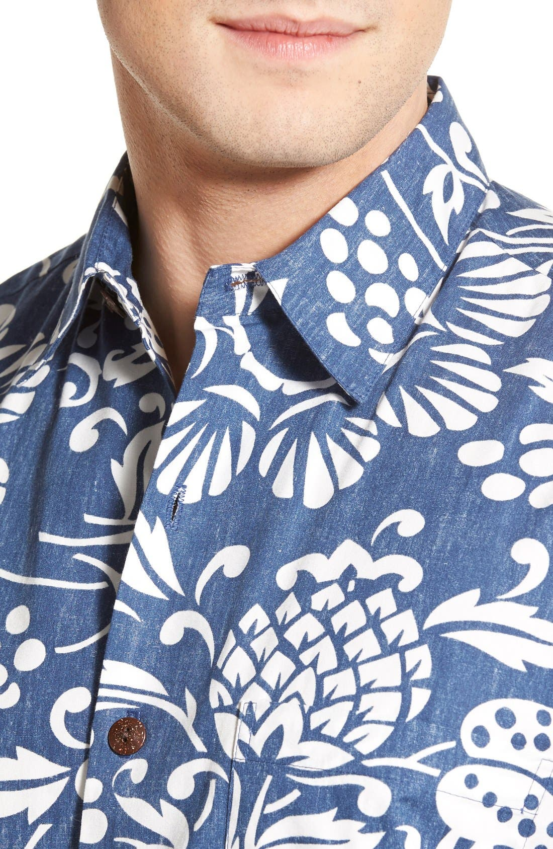 Alternate Image 4  - KAHALA 'Dukes Par' Regular Fit Sport Shirt
