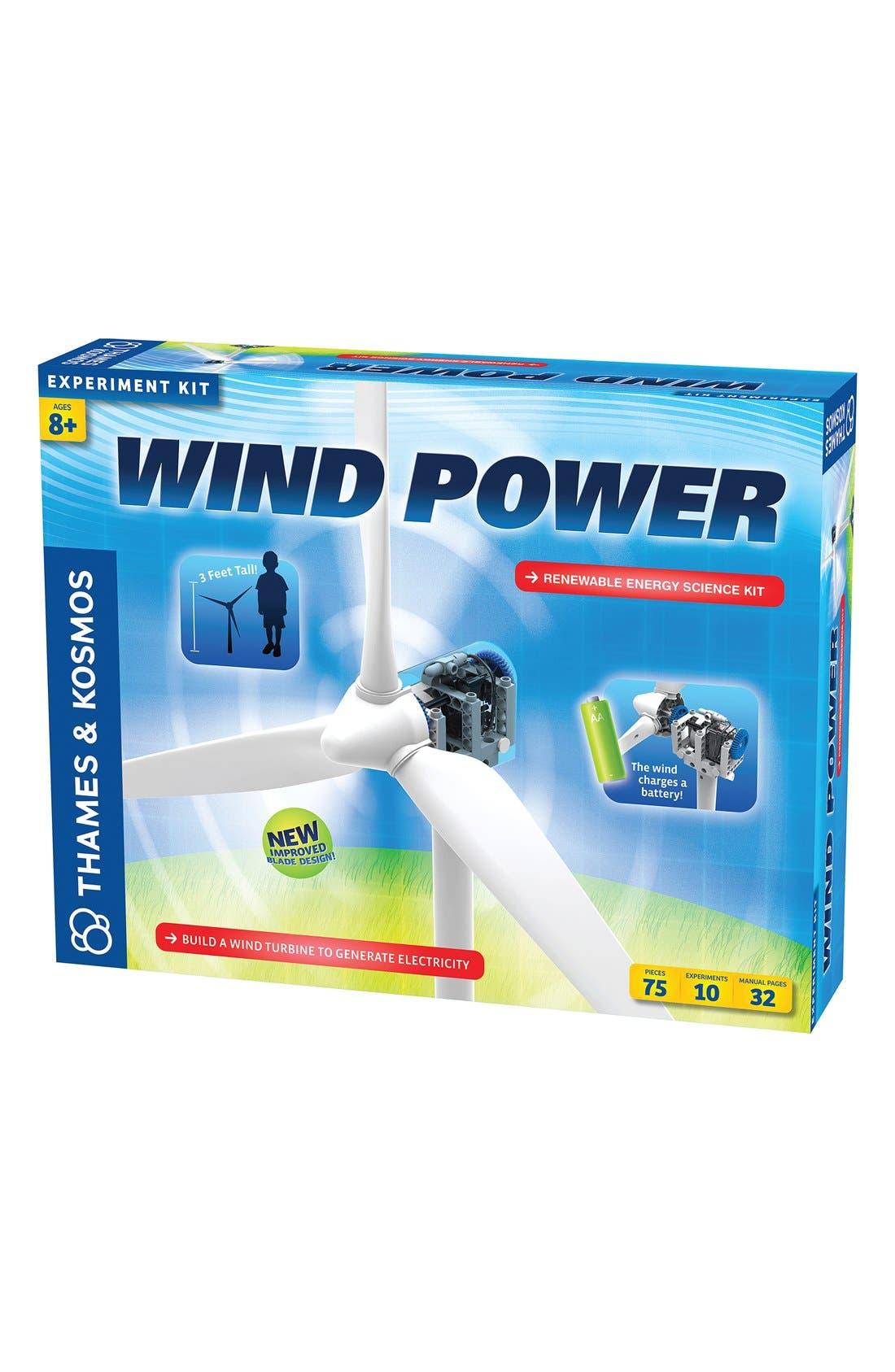 'Wind Power V3.0' Experiment Kit,                             Alternate thumbnail 2, color,                             Blue