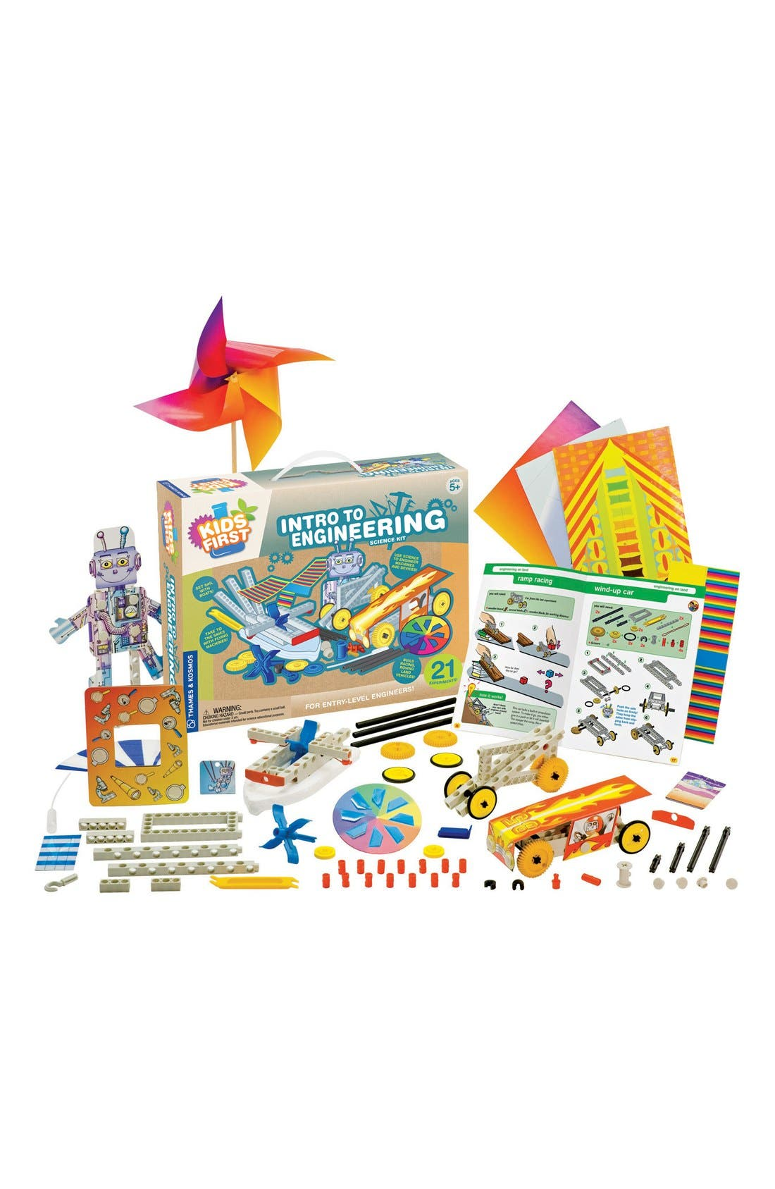 Alternate Image 3  - Thames & Kosmos 'Intro To Engineering' Science Kit