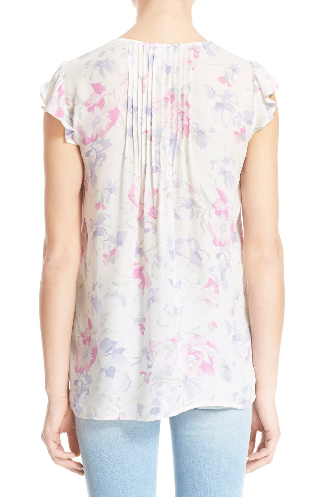 Alternate Image 2  - Joie 'Olvera' Floral Print Blouse