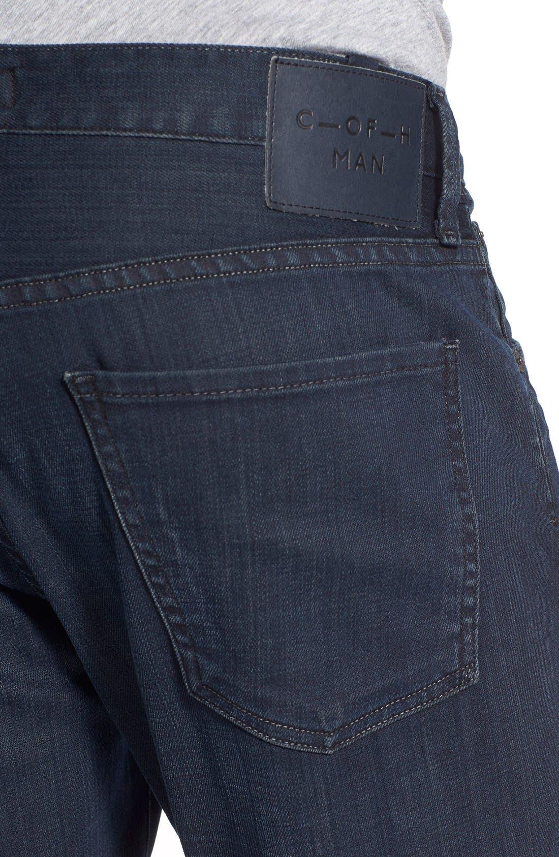 Gage Slim Straight Leg Jeans,                             Alternate thumbnail 4, color,                             Duvall