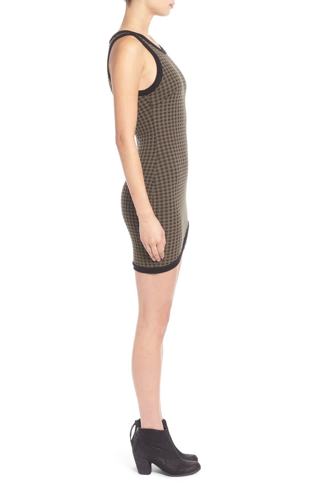 Alternate Image 3  - Lush Surplice Hem Knit Body-Con Dress