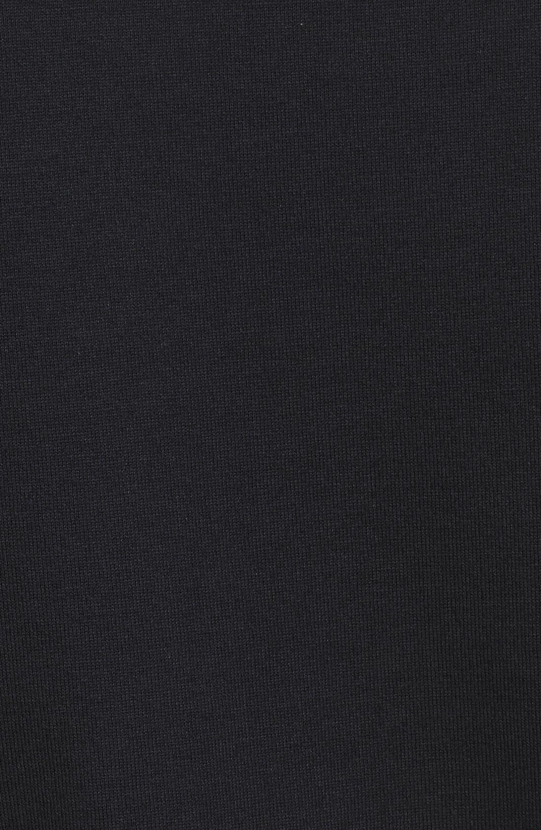 Comme des Garçons PLAY Crewneck T-Shirt,                             Alternate thumbnail 5, color,                             Black