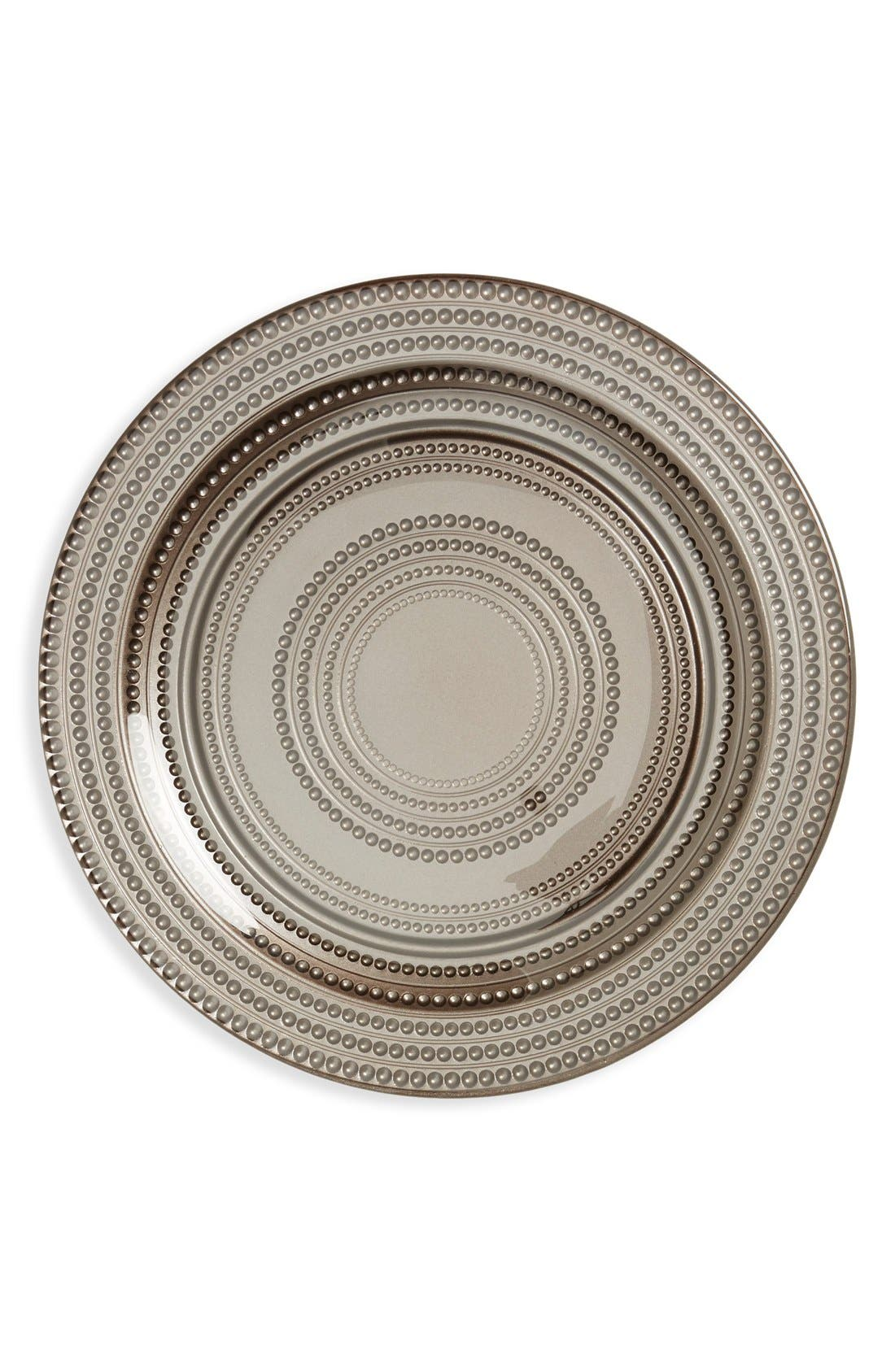 Main Image - Europe2You Beaded Glass Dinner Plate