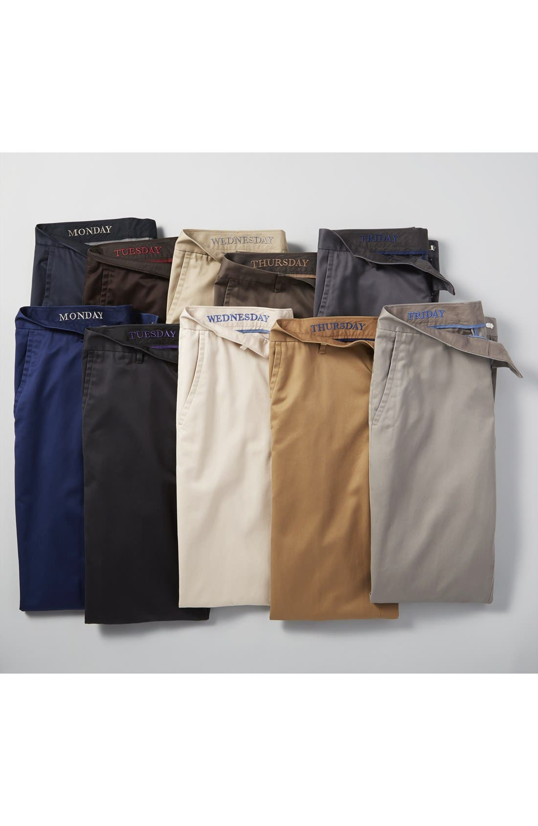 Alternate Image 6  - Bonobos 'Weekday Warriors' Non-Iron Straight Leg Cotton Pants