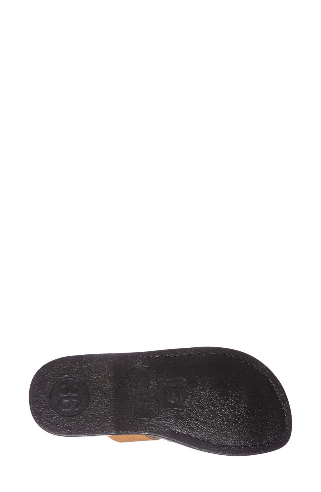 Alternate Image 4  - Jerusalem Sandals 'The Good Shepard' Leather Sandal (Women)