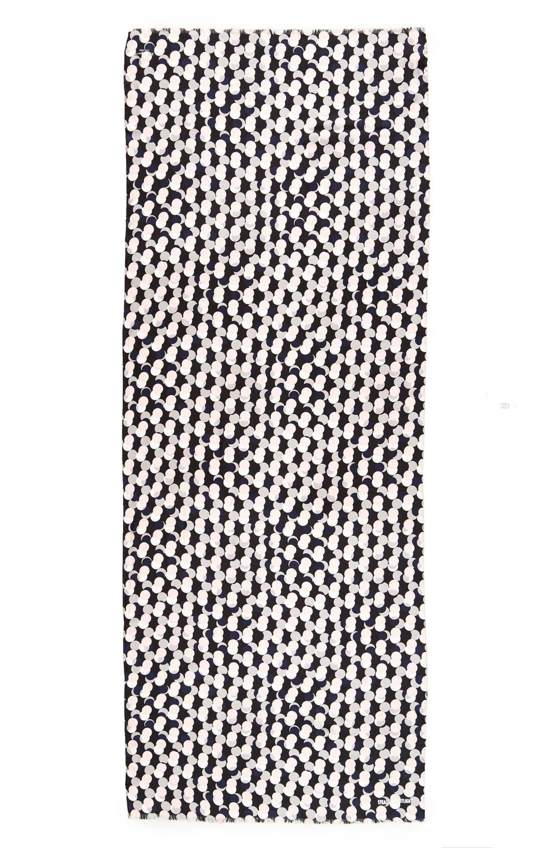 Alternate Image 2  - kate spade new york 'steal the spotlight' silk scarf