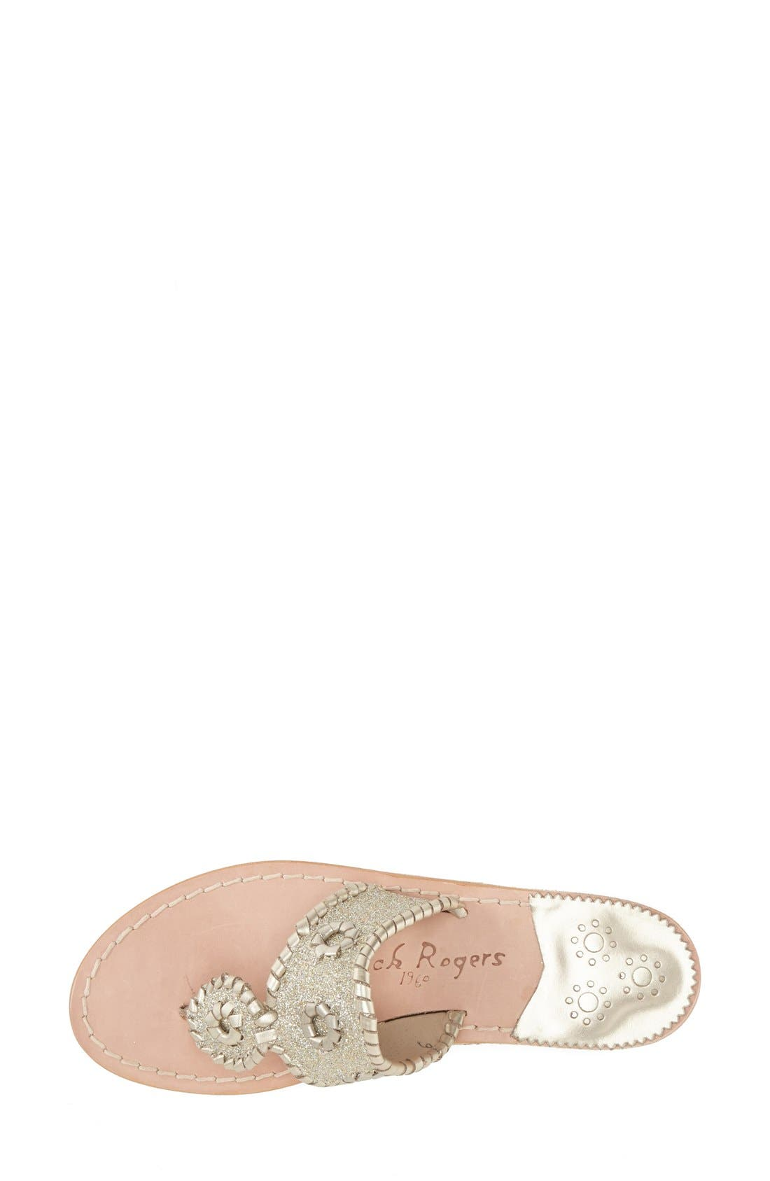 Alternate Image 5  - Jack Rogers 'Sparkle' Sandal (Women)