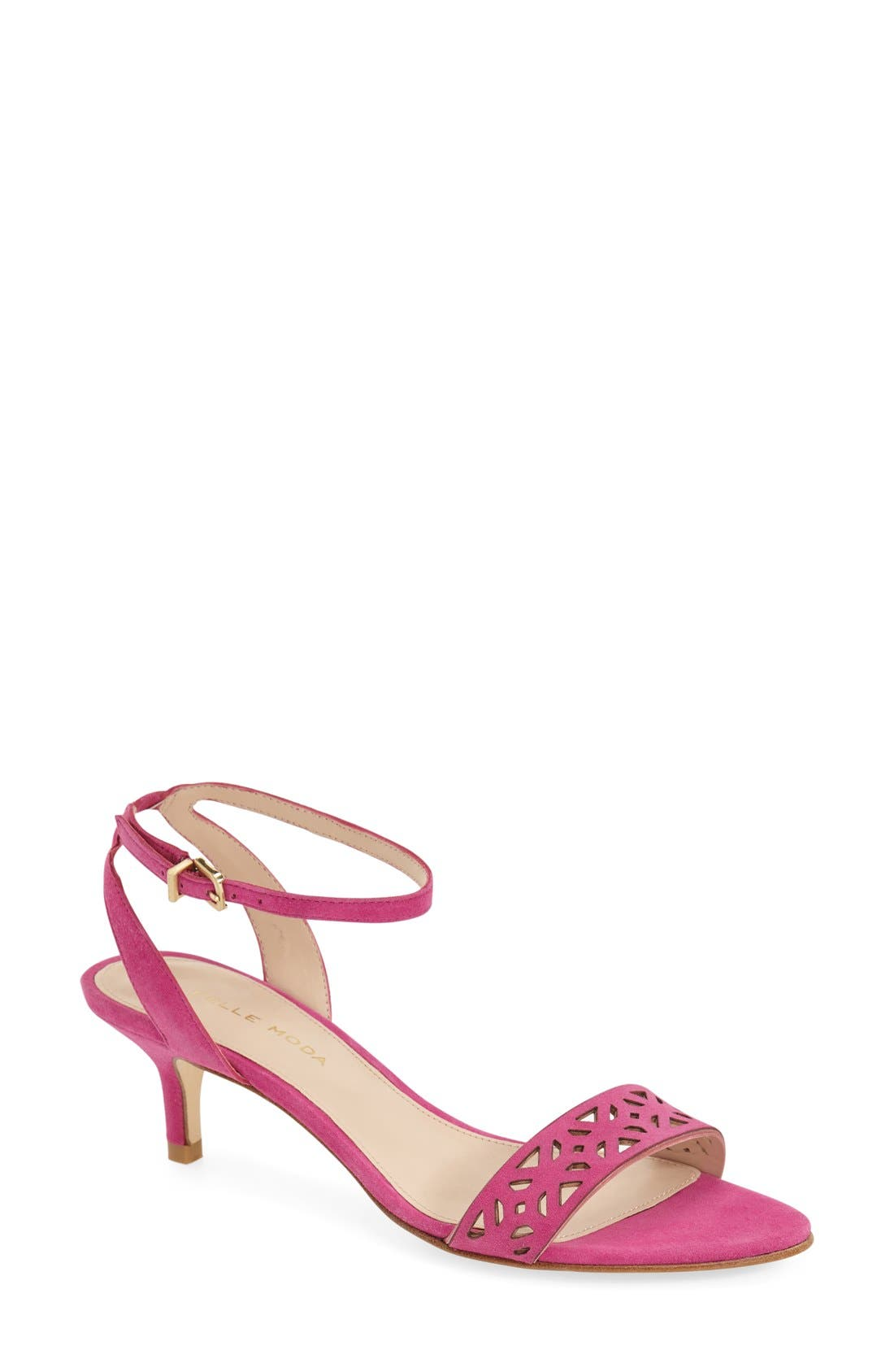 'Otis' Ankle Strap Sandal,                             Main thumbnail 1, color,                             Sugarplum