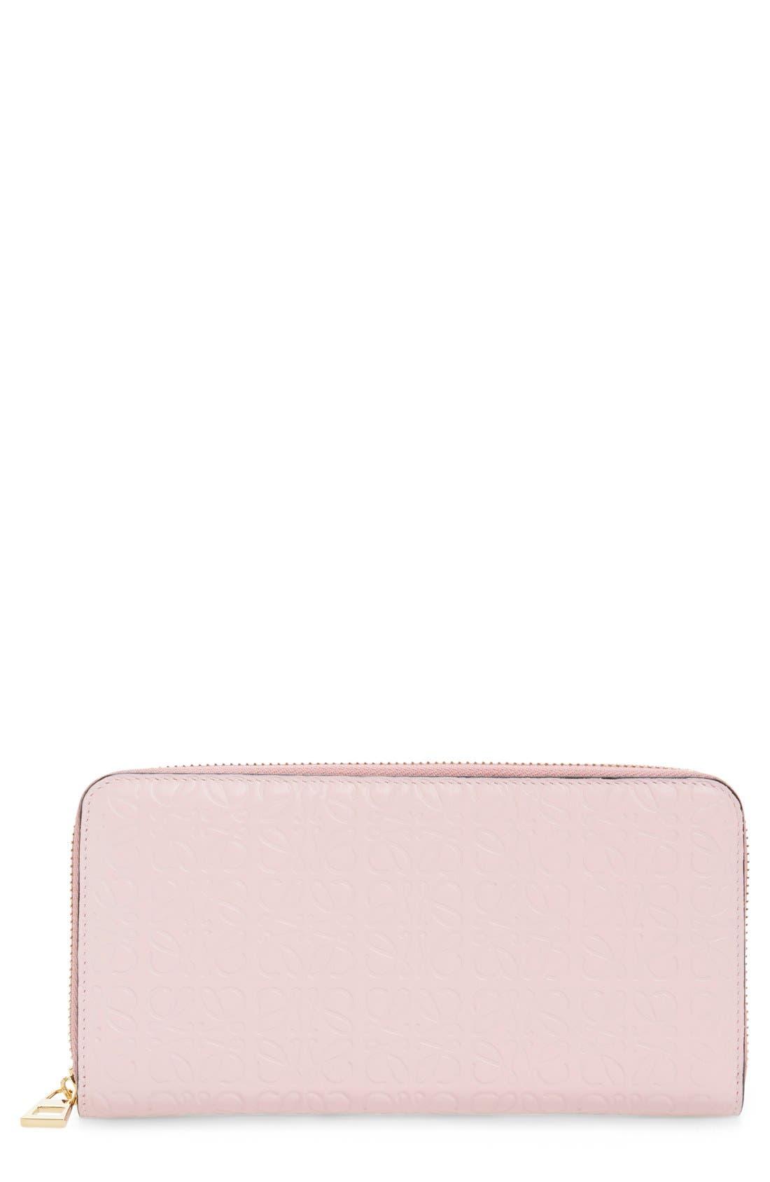 Alternate Image 1 Selected - Loewe Leather Zip Around Wallet