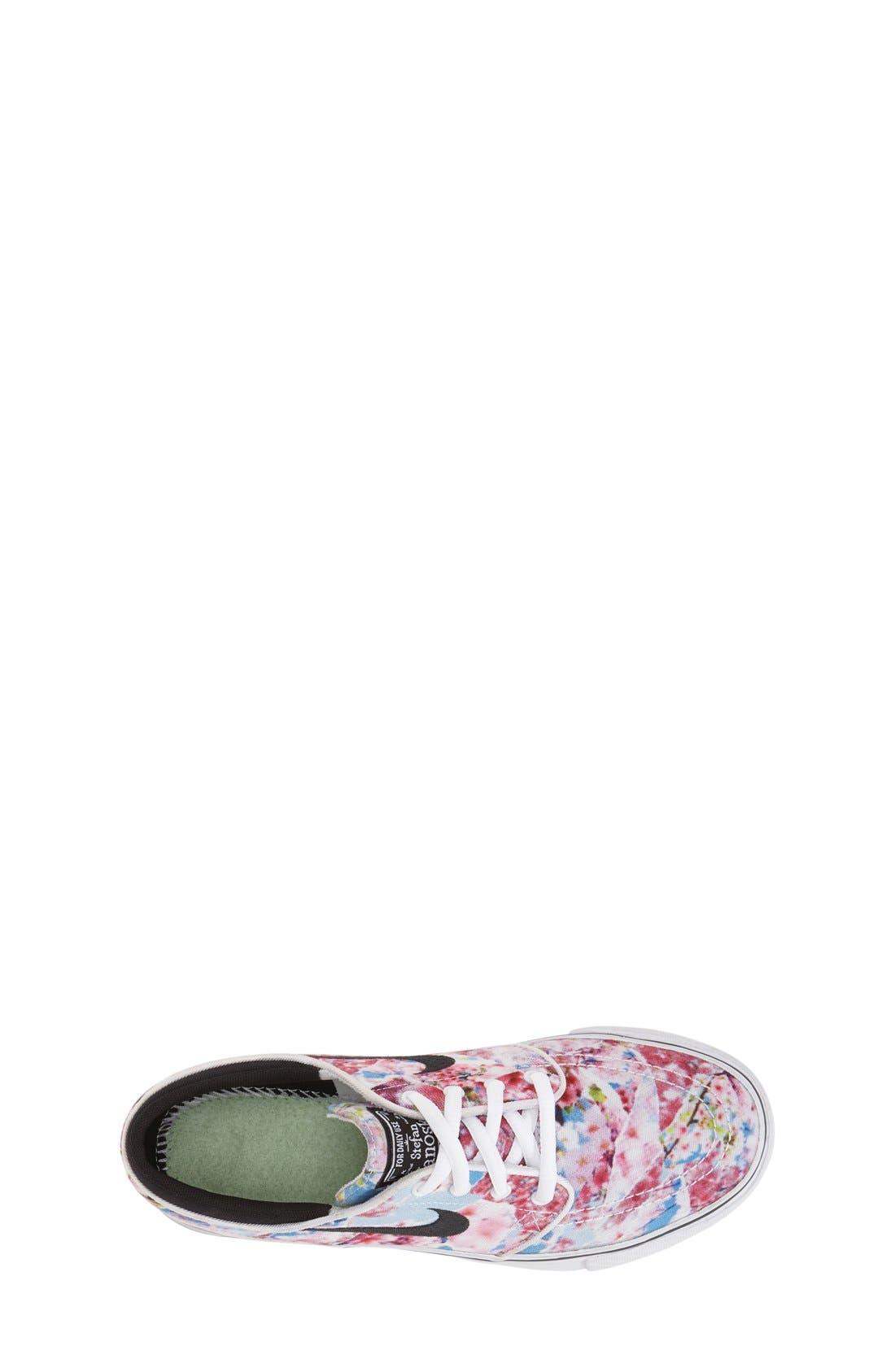 Alternate Image 3  - Nike 'Stefan Janoski' Premium Canvas Sneaker (Big Kid)