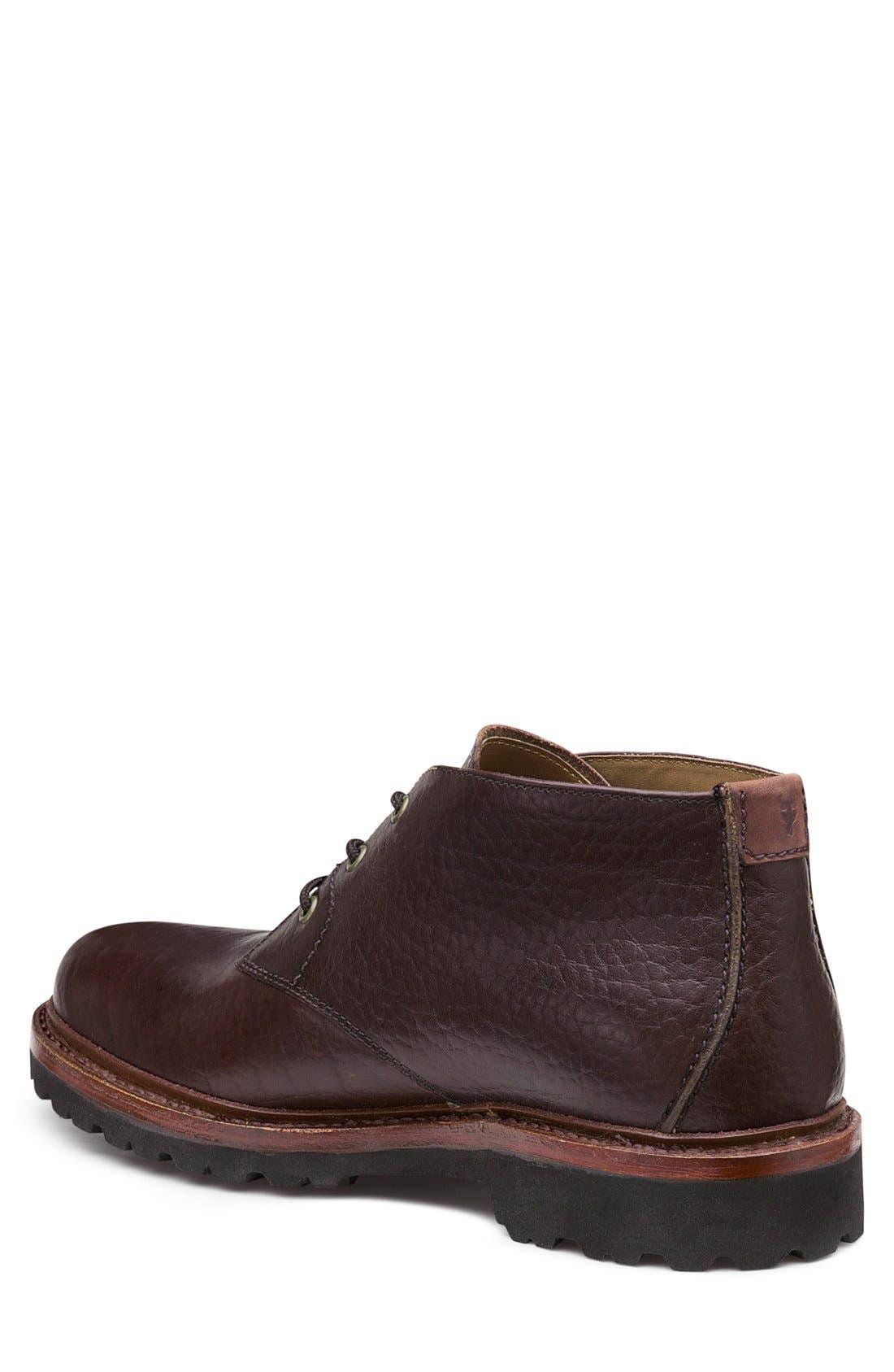 'Gulch II' Chukka Boot,                             Alternate thumbnail 2, color,                             Bourbon Leather