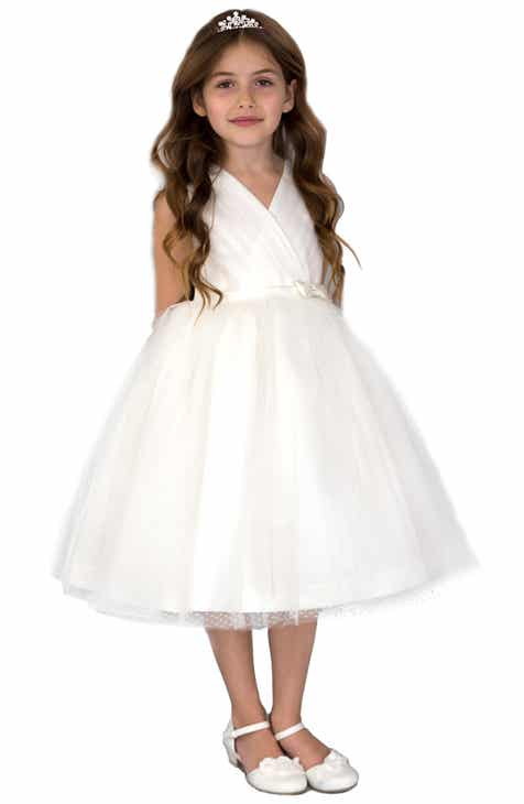 Flower girl dresses accessories nordstrom us angels pleated dress toddler girls little girls big girls mightylinksfo Image collections