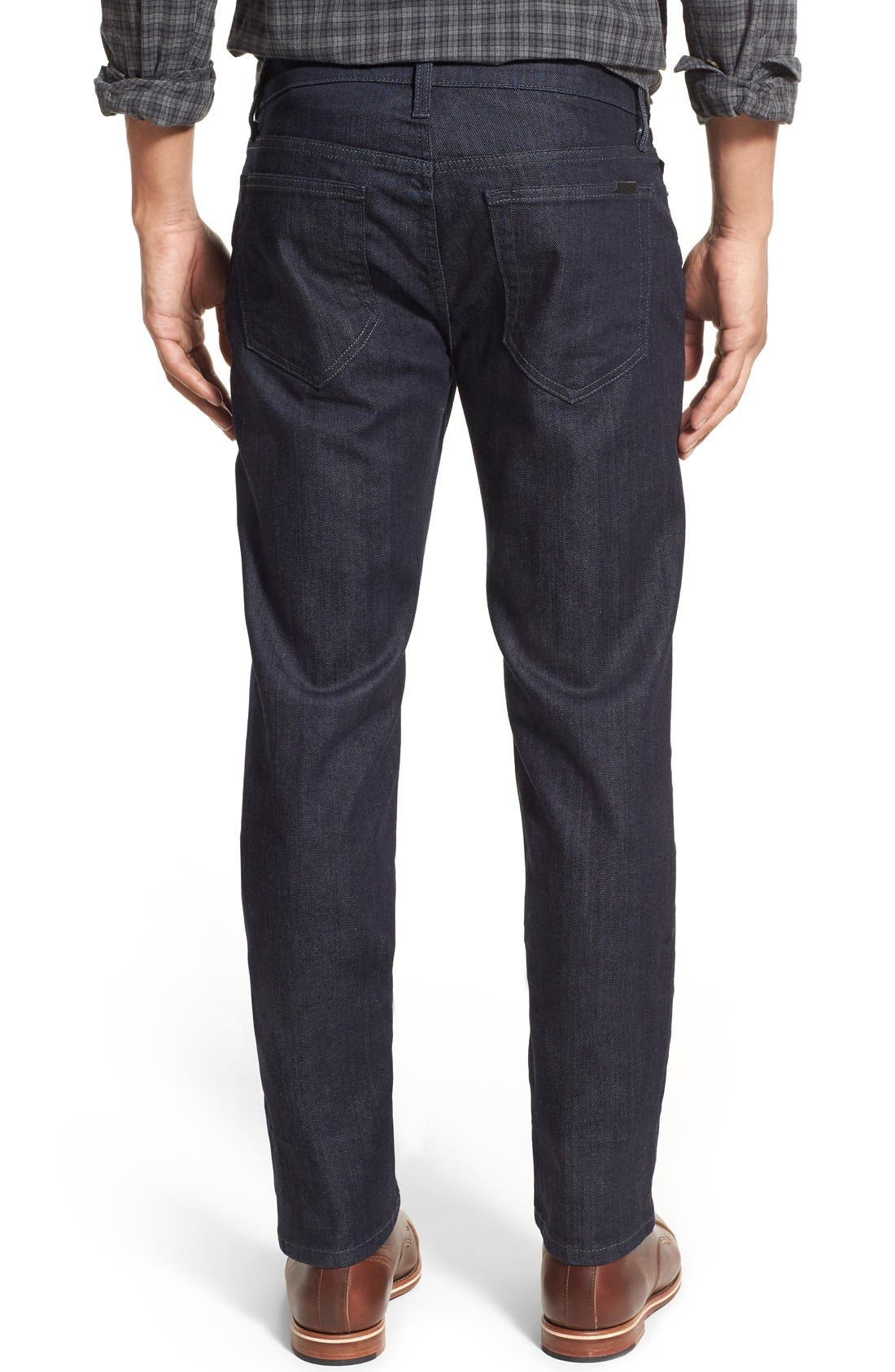 Alternate Image 2  - Joe's Brixton Slim Straight Fit Jeans (King) (Regular & Tall)