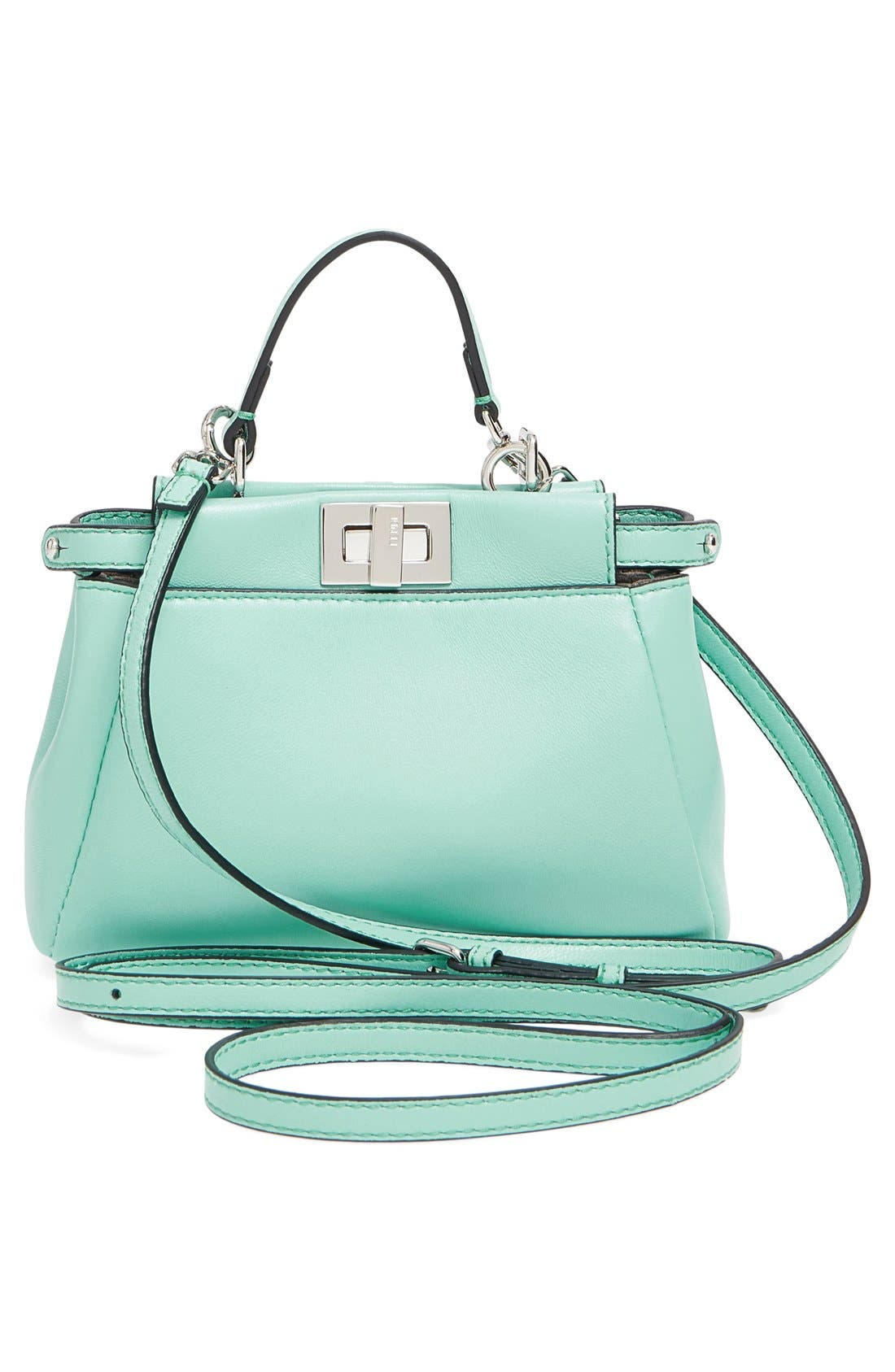 Alternate Image 3  - Fendi 'Micro Peekaboo' Nappa Leather Bag