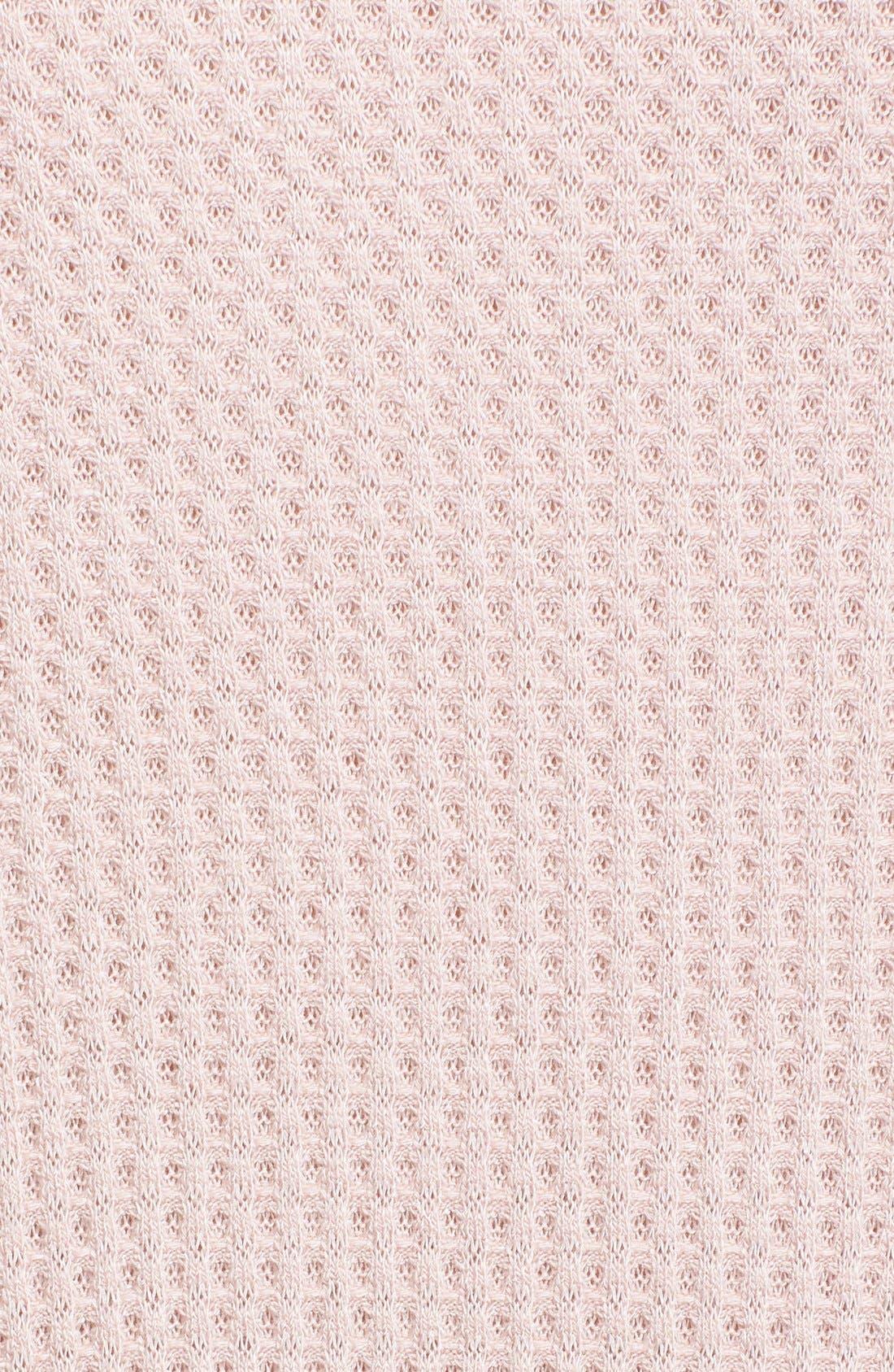 Alternate Image 5  - Free People 'Kristina' Drippy Thermal Top