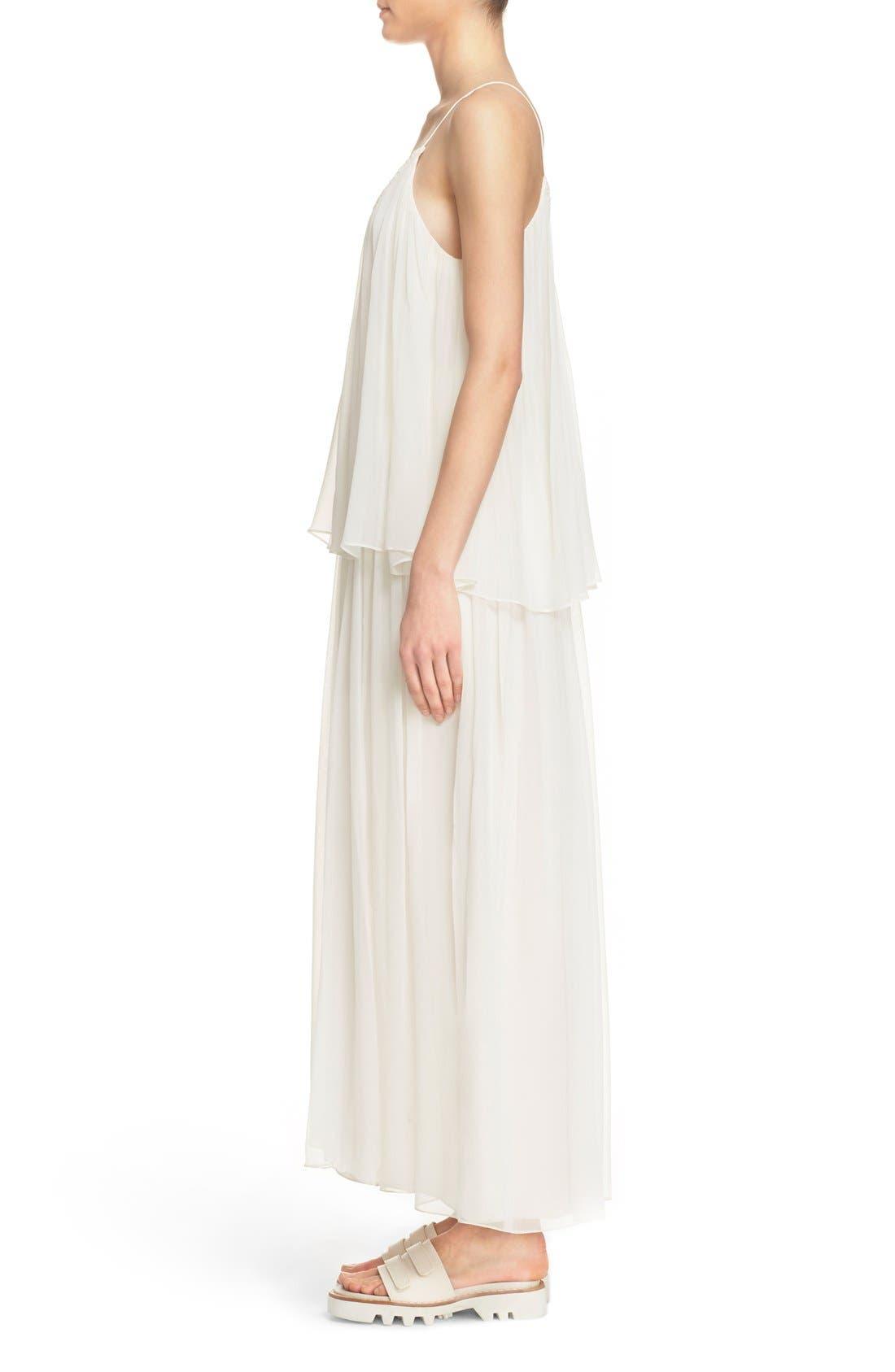 Alternate Image 3  - Elizabeth and James 'Mael' Blouson Silk Maxi Dress