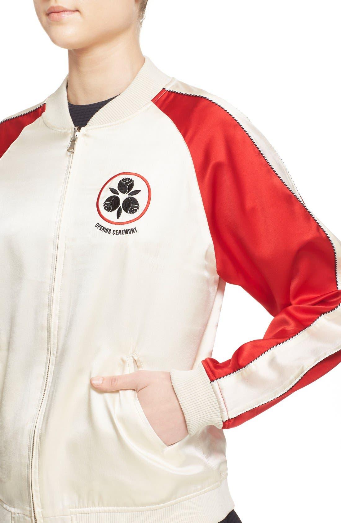 Alternate Image 4  - Opening Ceremony 'Yokai' Embroidered Reversible Bomber Jacket