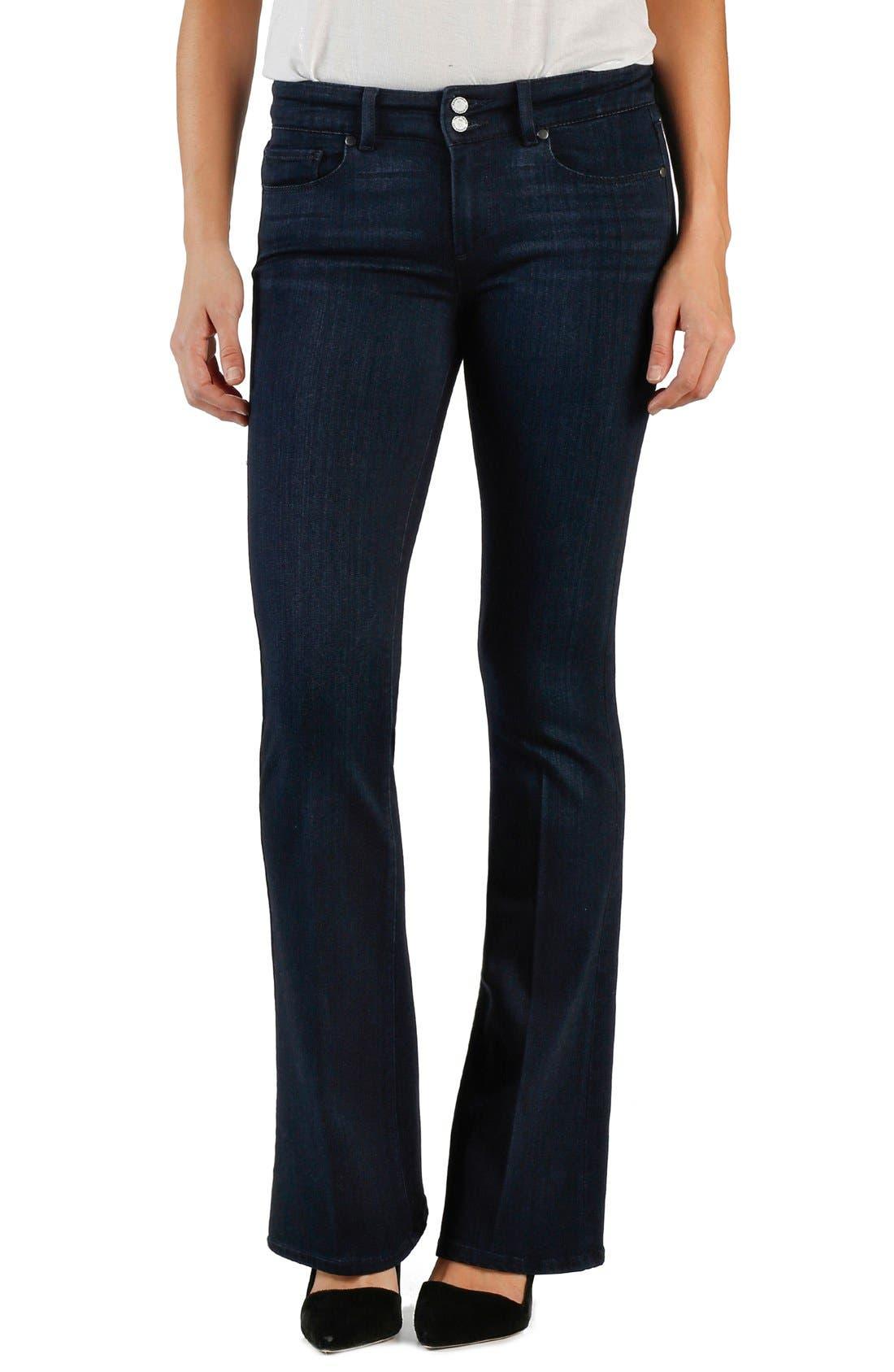 Main Image - PAIGE 'Transcend - Hidden Hills' Bootcut Jeans (Bette)