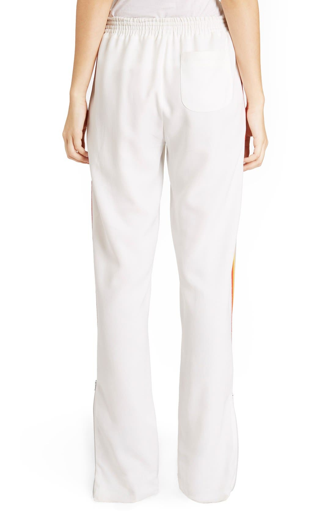 Alternate Image 3  - Chloé Rainbow Stripe Track Pants