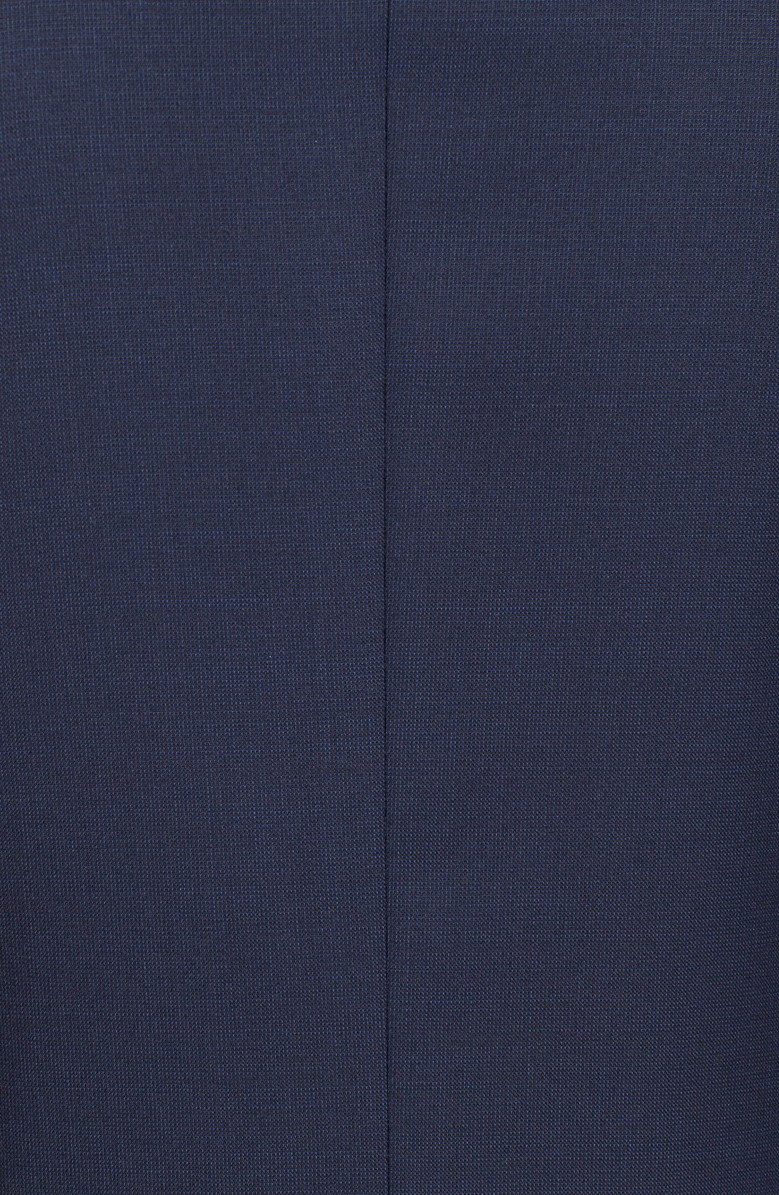 Trevi Trim Fit Wool Blazer,                             Alternate thumbnail 6, color,                             Navy