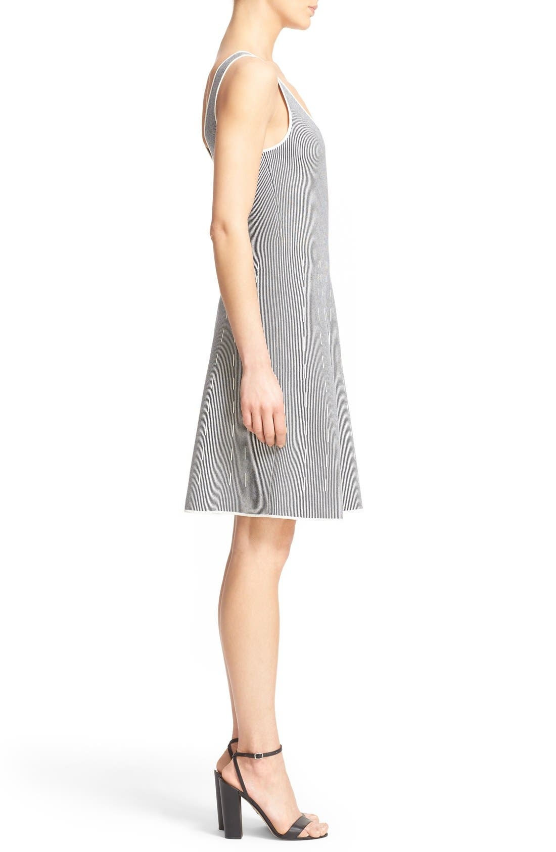 Alternate Image 3  - Theory 'Codris' Knit Fit & Flare Dress
