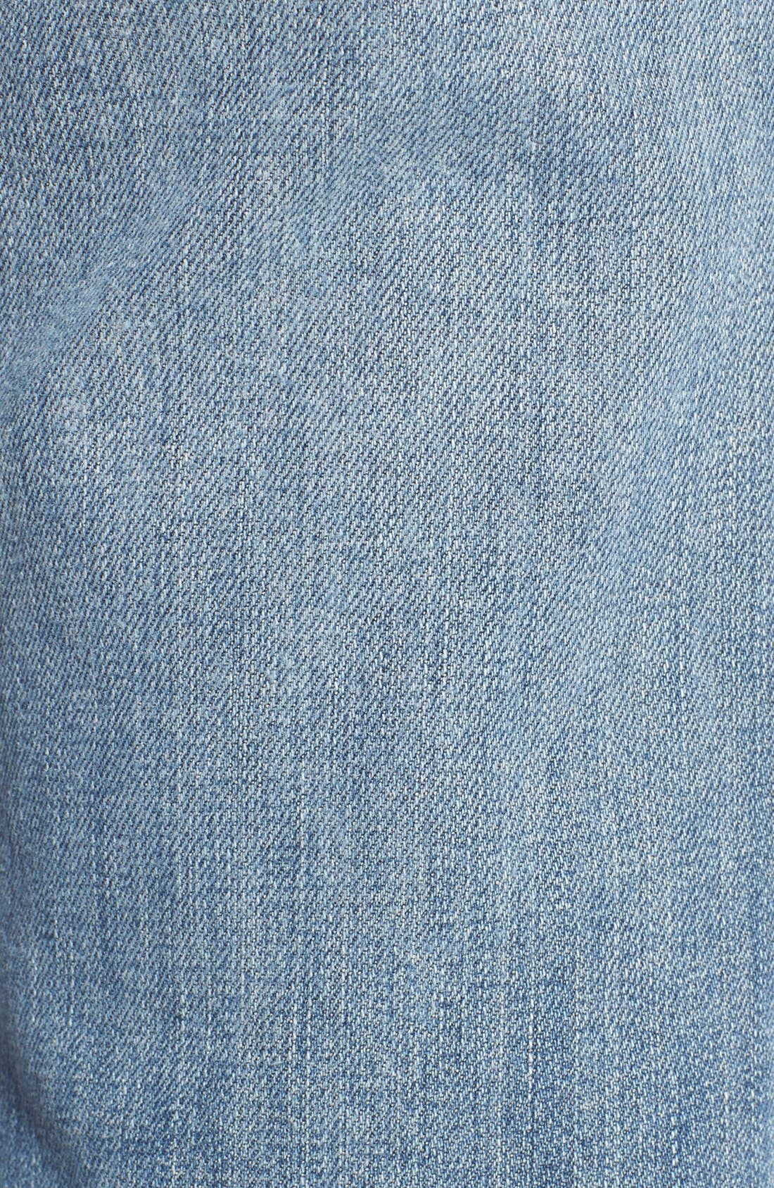 'Collector's - Ex Lover' Straight Leg Jeans,                             Alternate thumbnail 6, color,                             Bev