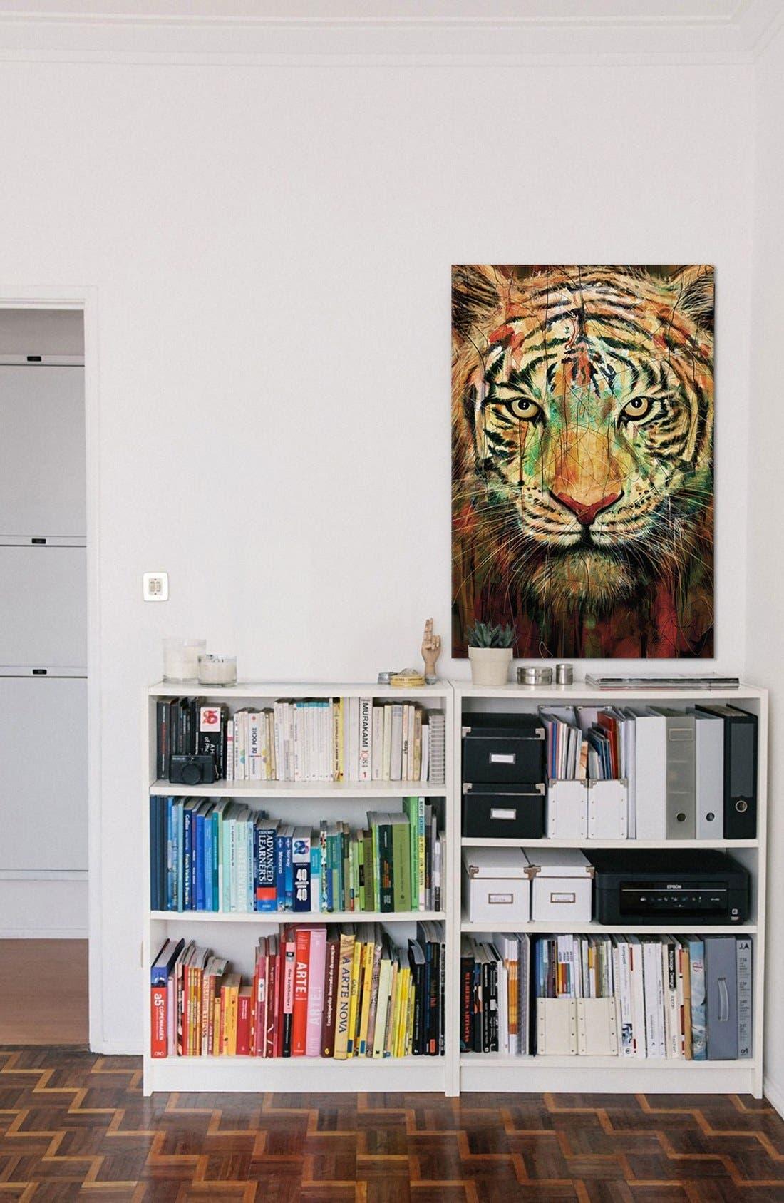 Alternate Image 2  - iCanvas 'Tiger II' Giclée Print Canvas Art