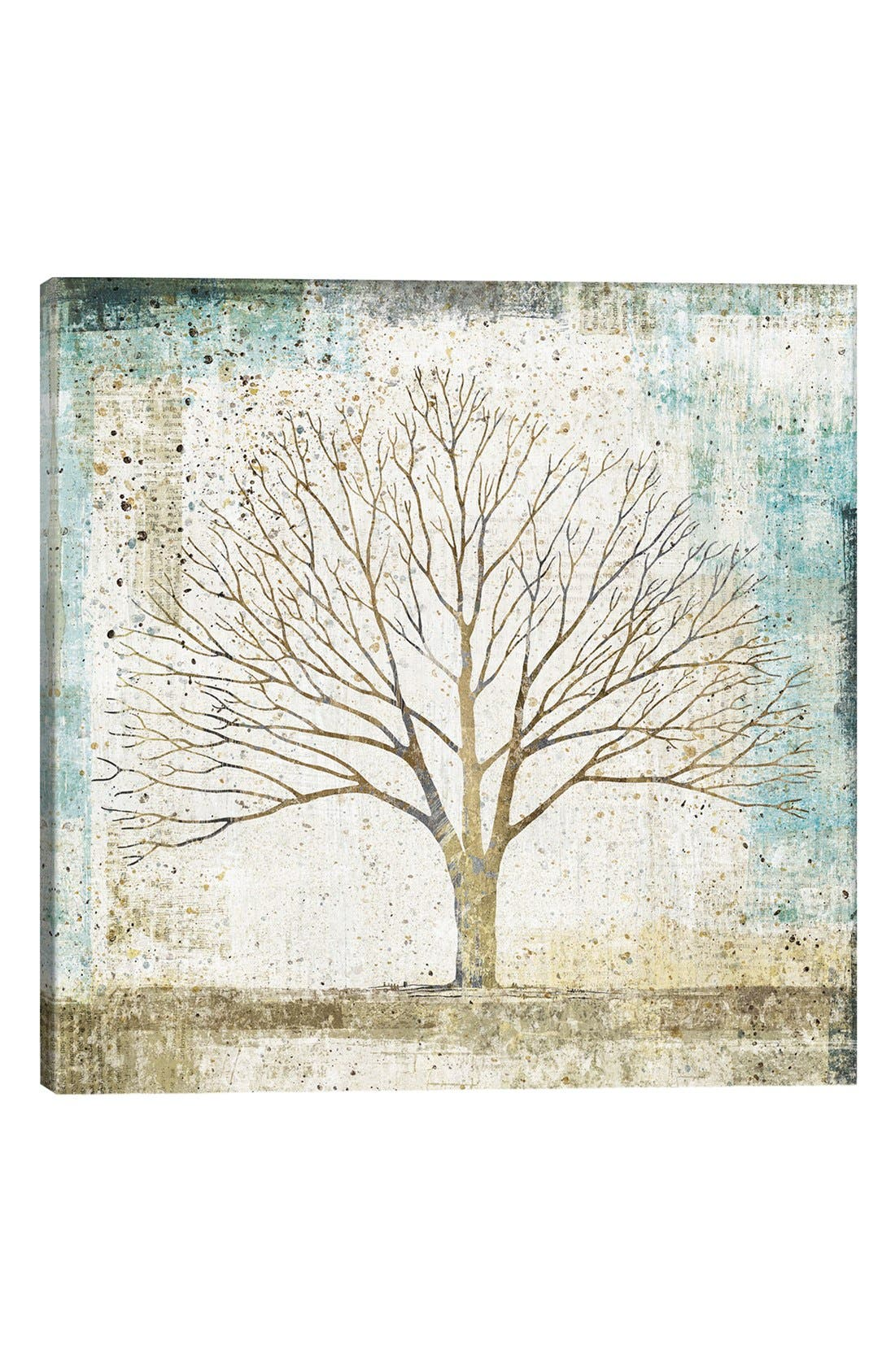 Alternate Image 1 Selected - iCanvas 'Solitary Tree' Giclée Print Canvas Art
