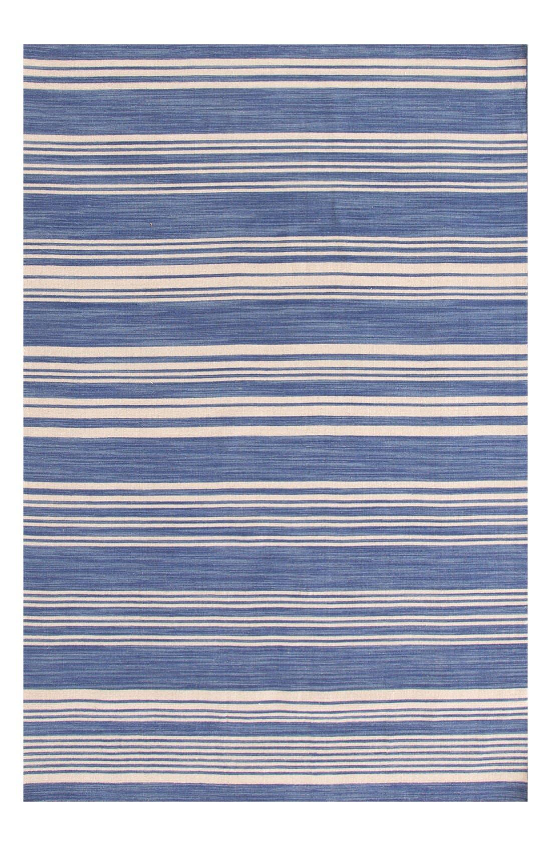 Main Image - Dash & Albert 'Cottage' Stripe Wool Rug