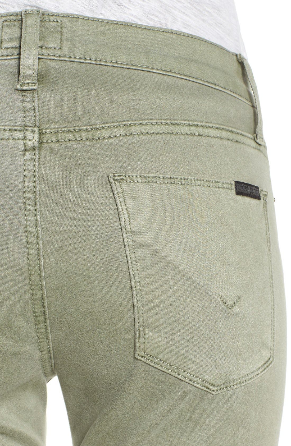 Alternate Image 4  - Hudson Jeans 'Nico' Ankle Super Skinny Jeans (Earth Works)