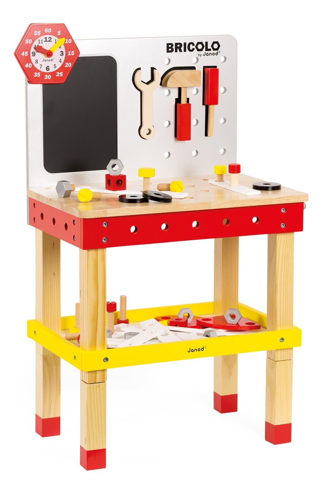 Main Image - Janod 'Bricolo Redmaster Magnetic Workbench' Play Set
