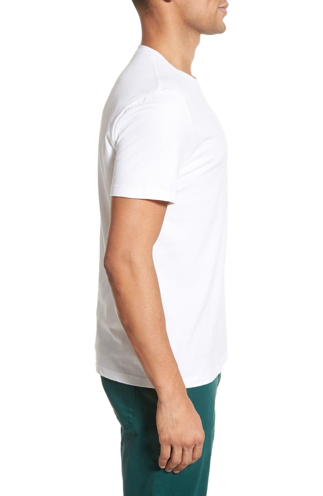 Alternate Image 3  - AG 'Cliff' Crewneck T-Shirt