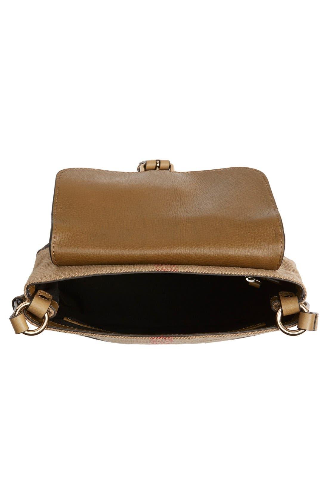 Alternate Image 5  - Burberry 'Small Gowan' Crossbody Bag