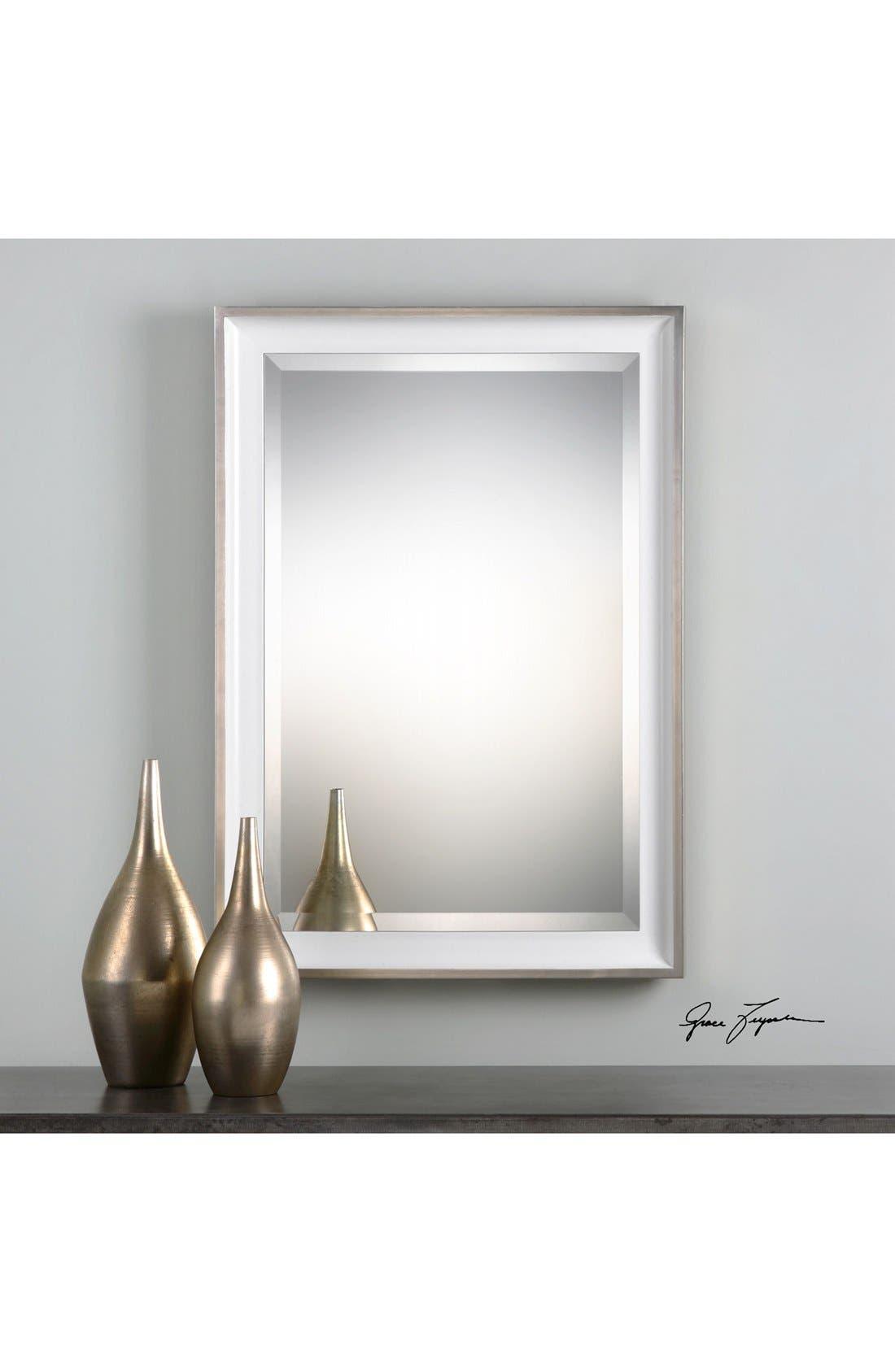 'Lahvahn' Mirror,                             Alternate thumbnail 2, color,                             Metallic Silver