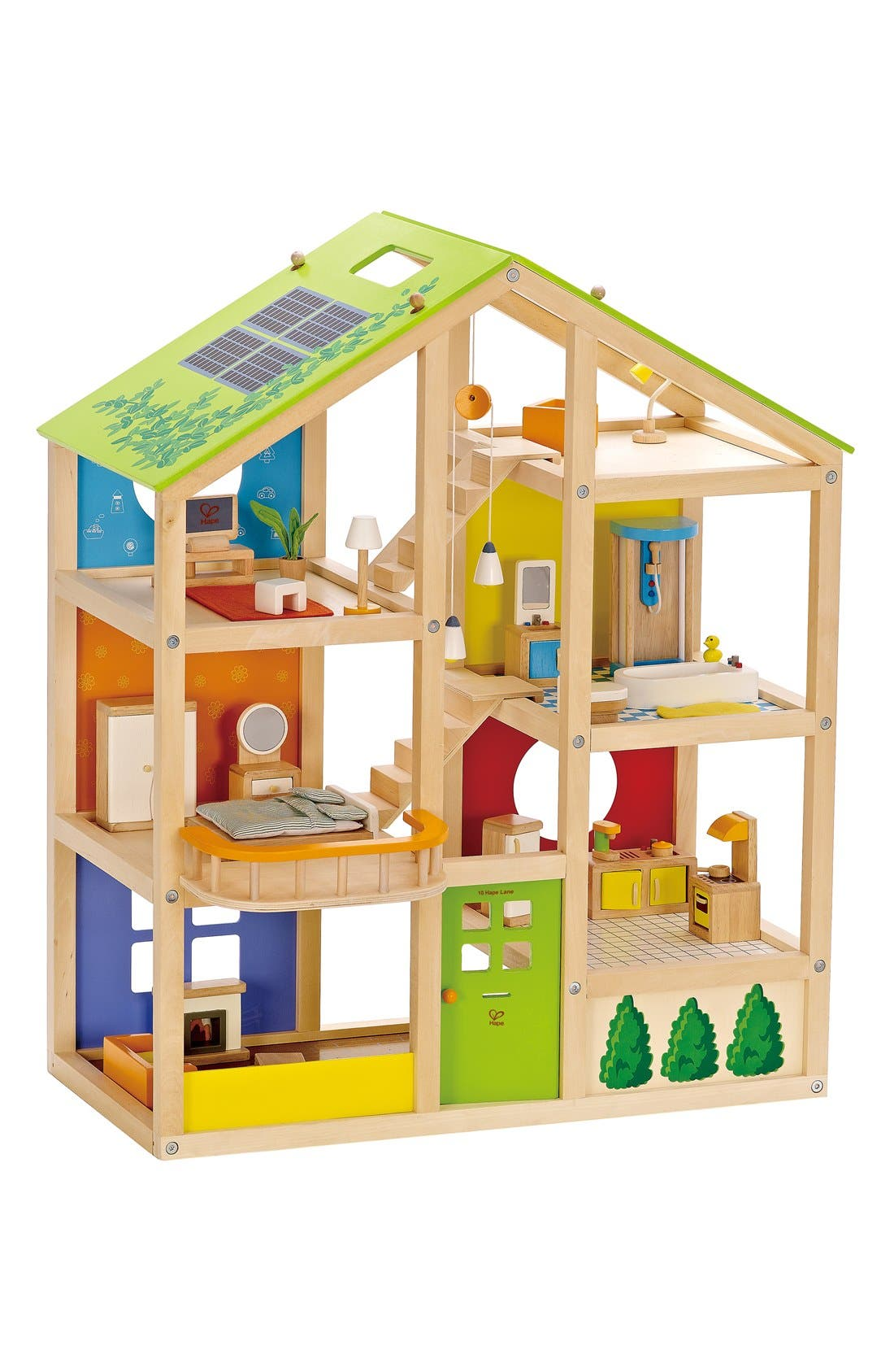 Furnished All-Season Playhouse,                         Main,                         color, Multi