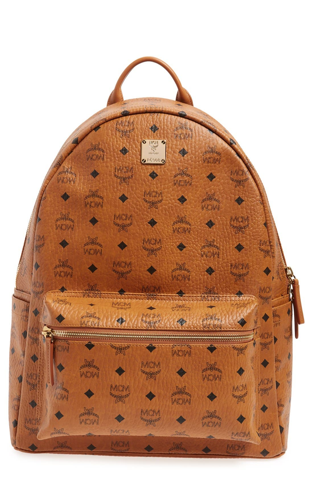 'Large Stark' Backpack,                             Main thumbnail 1, color,                             Cognac