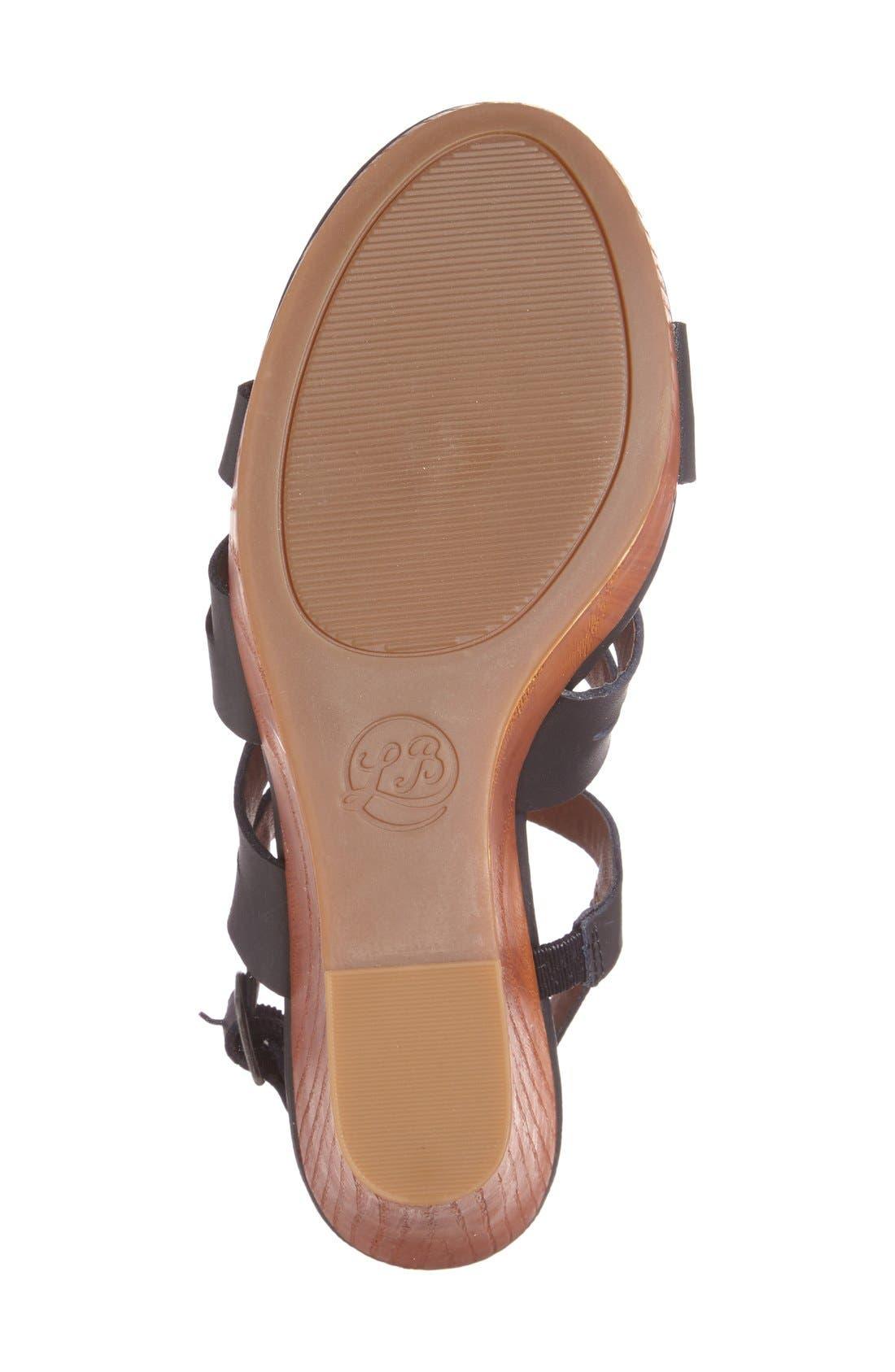 Alternate Image 4  - Lucky Brand 'Larinaa' Wedge Sandal (Women)