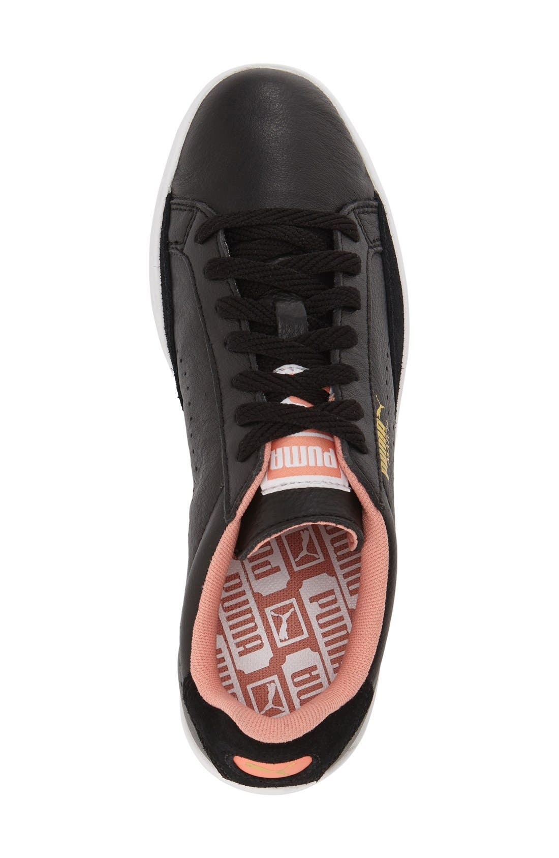 Alternate Image 3  - PUMA 'Match Lo - Basic Sport' Leather Sneaker (Women)