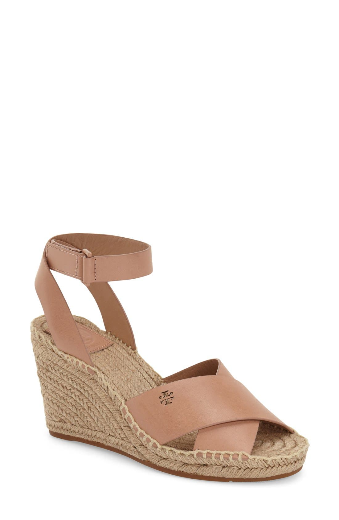 Alternate Image 1 Selected - Tory Burch 'Bima' Espadrille Wedge (Women)