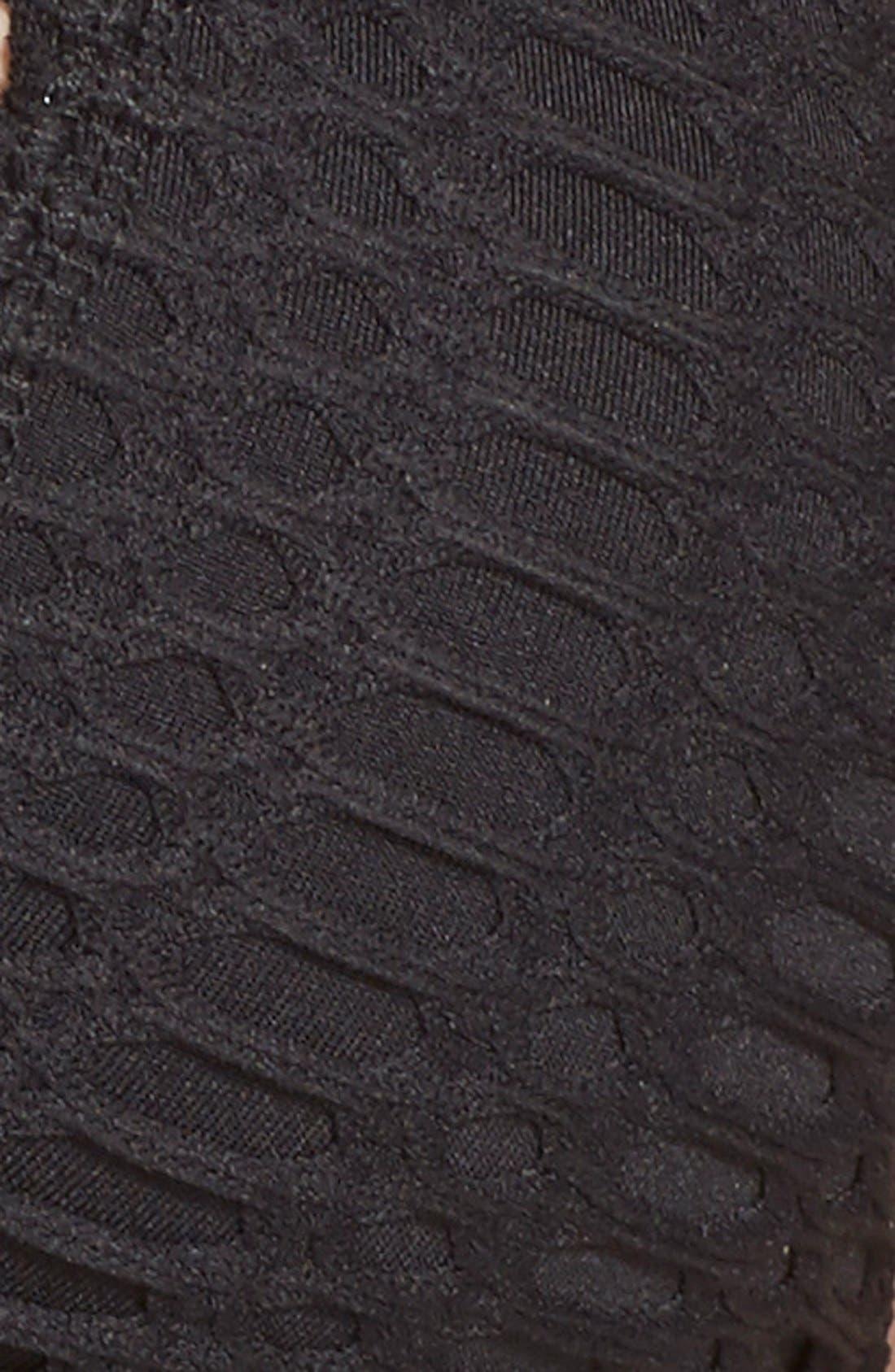 Alternate Image 6  - Robin Piccone 'Sophia' Crochet Halter Bikini Top