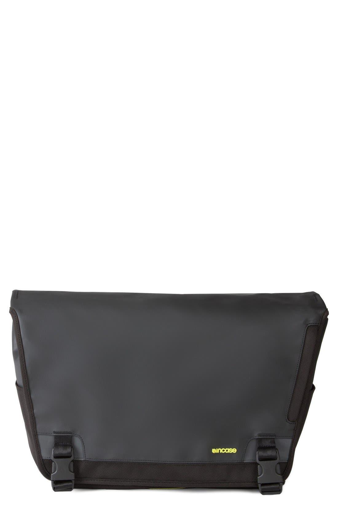 'Range' Messenger Bag,                             Main thumbnail 1, color,                             Black