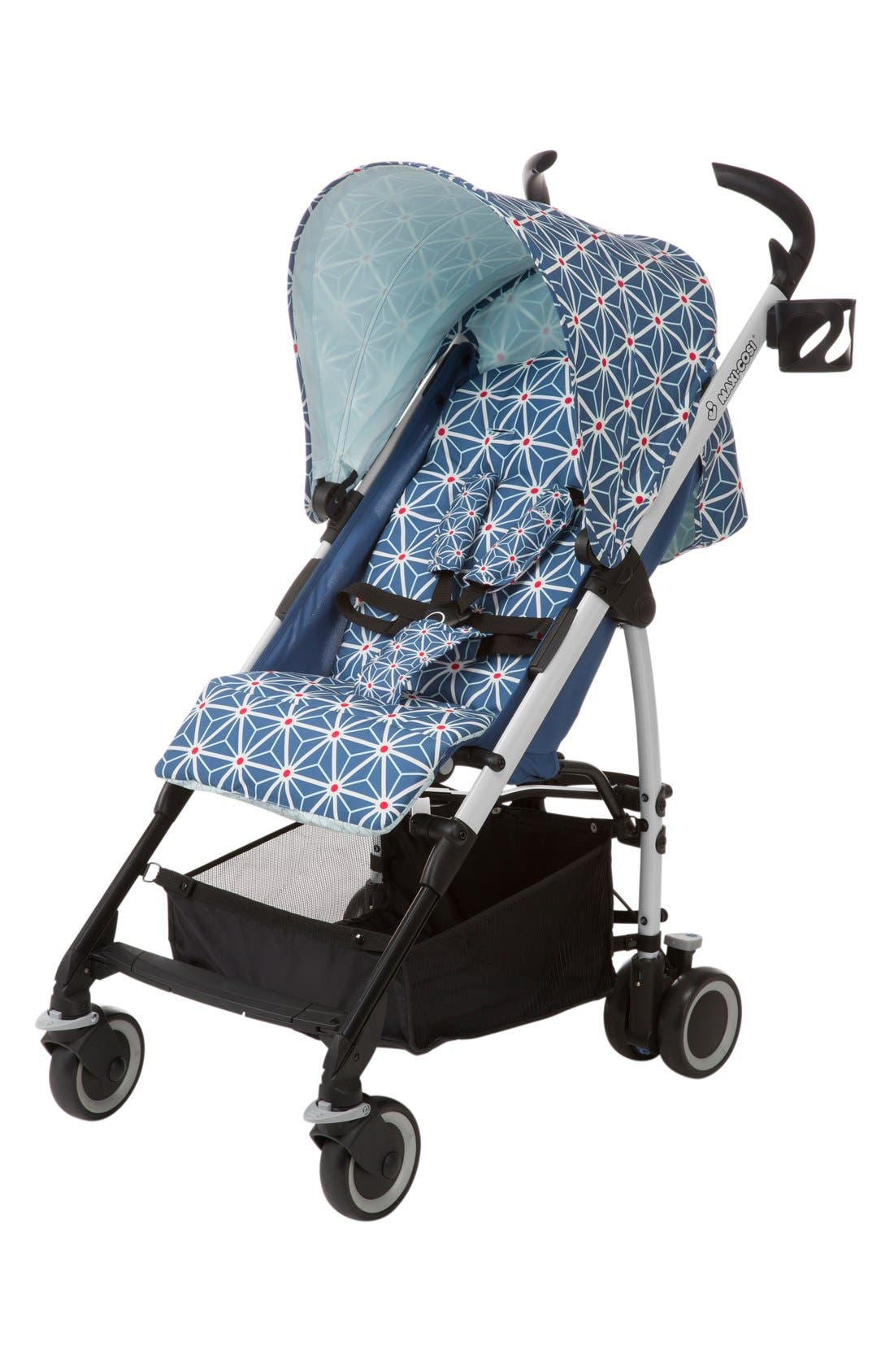 Kaia Compact Fold Stroller,                         Main,                         color, Navy Blue