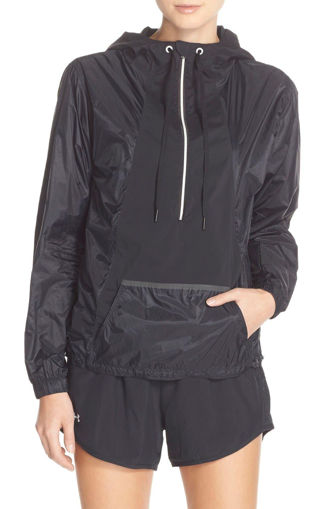 Alternate Image 1 Selected - Under Armour 'Roga' Half Zip Jacket