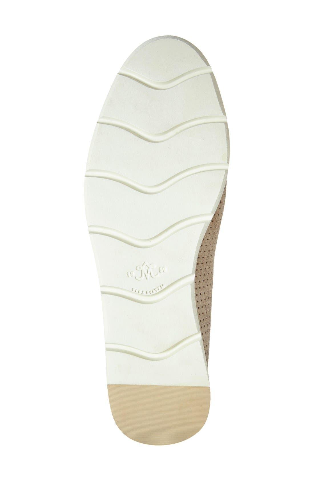 'Paulette' Slip-On Sneaker,                             Alternate thumbnail 3, color,                             Gold