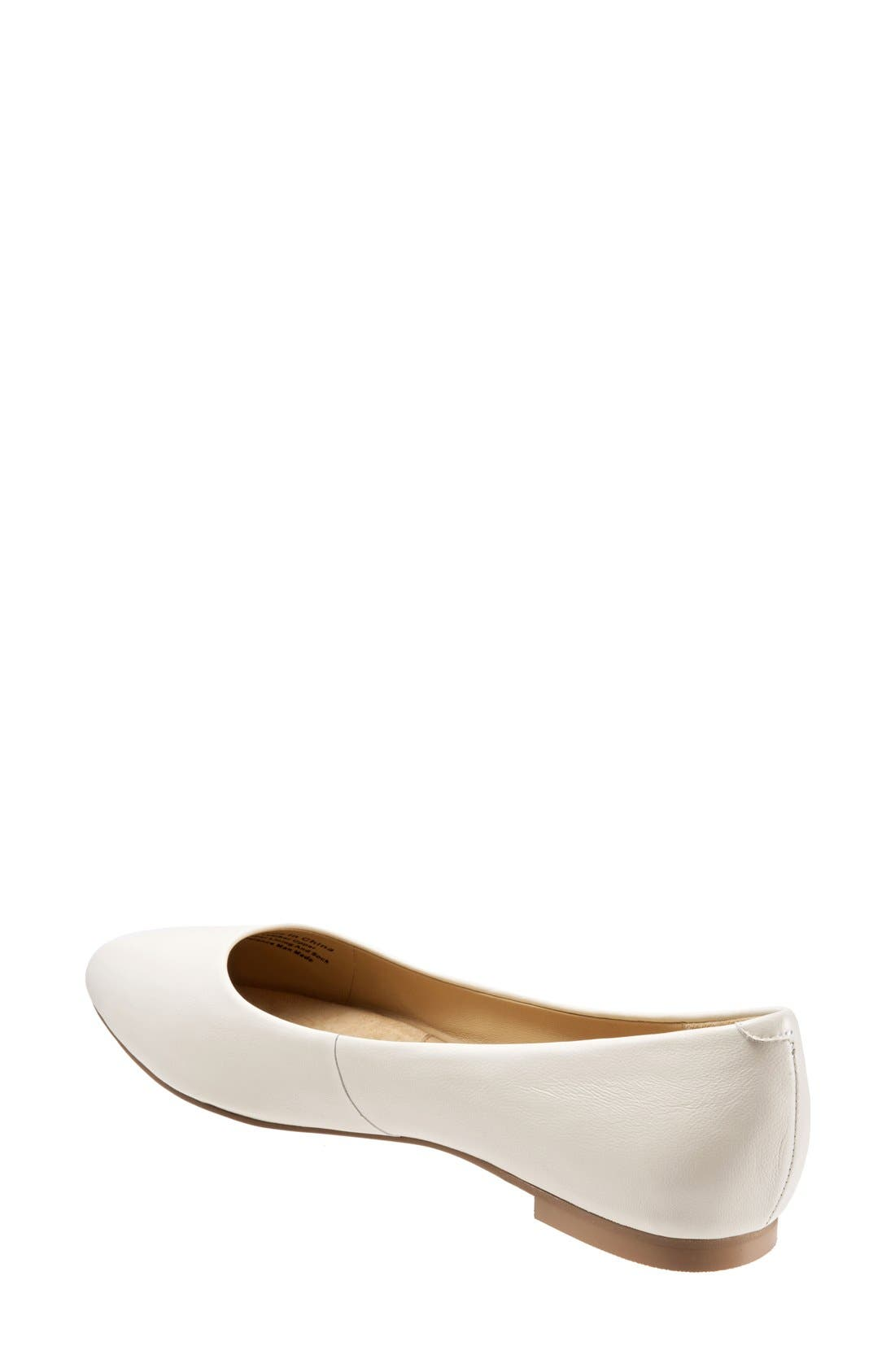 Alternate Image 5  - Trotters Estee Pointed Toe Flat (Women)