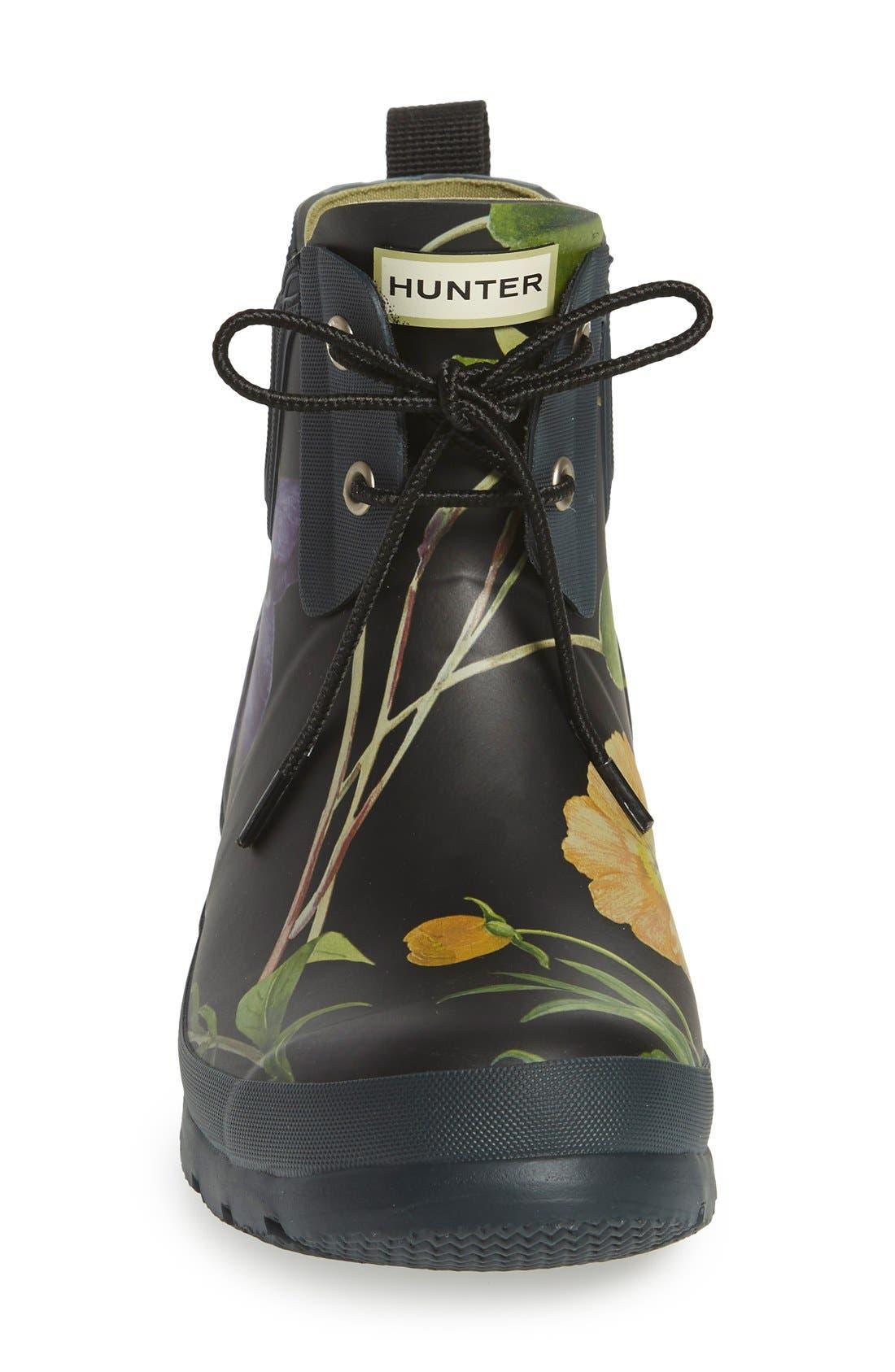 Alternate Image 3  - Hunter 'Royal Horticultural Society' Waterproof Lace-Up Short Rain Boot (Women)