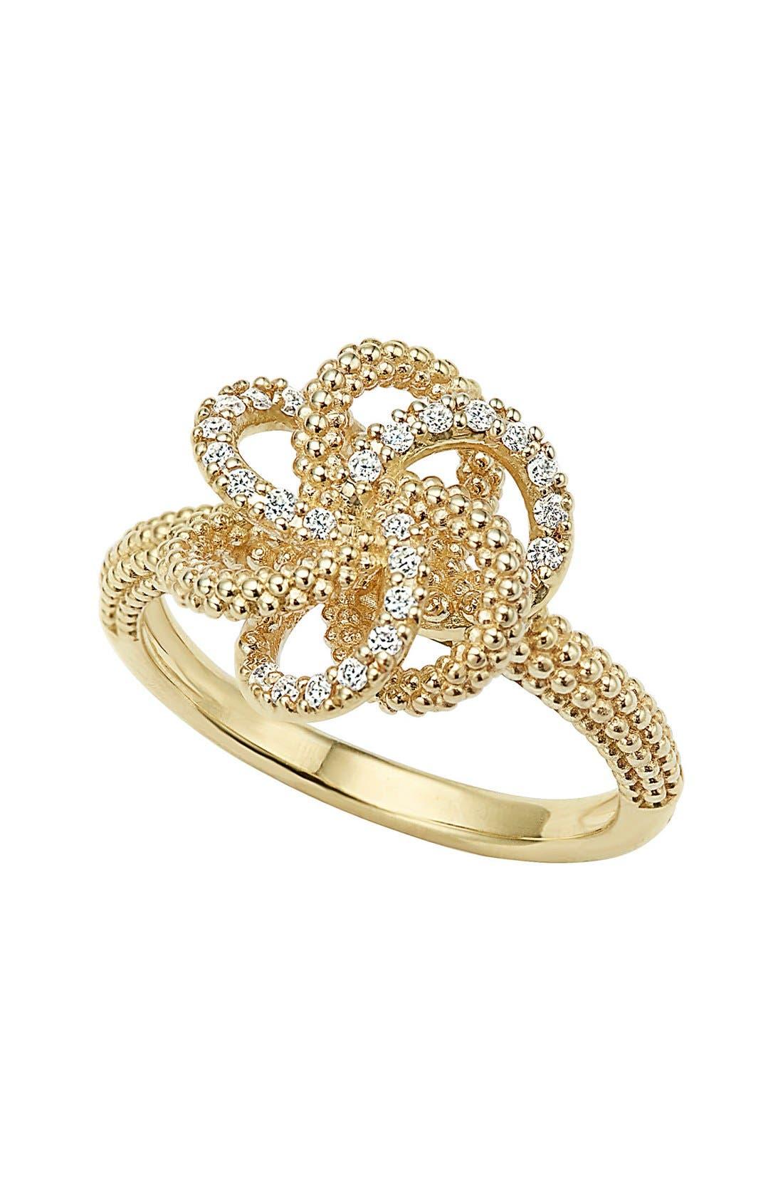 LAGOS Love Knot Diamond Ring