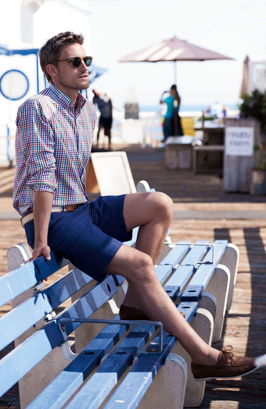 Alternate Image 6  - Peter Millar Pima Cotton Twill Shorts